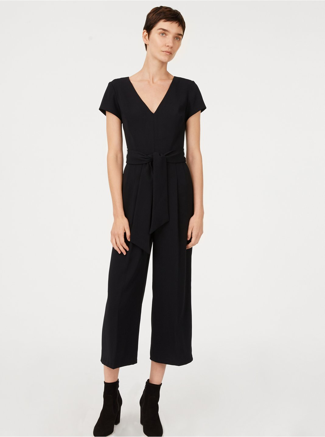 클럽 모나코 Club Monaco Sannah Jumpsuit,Soot Black