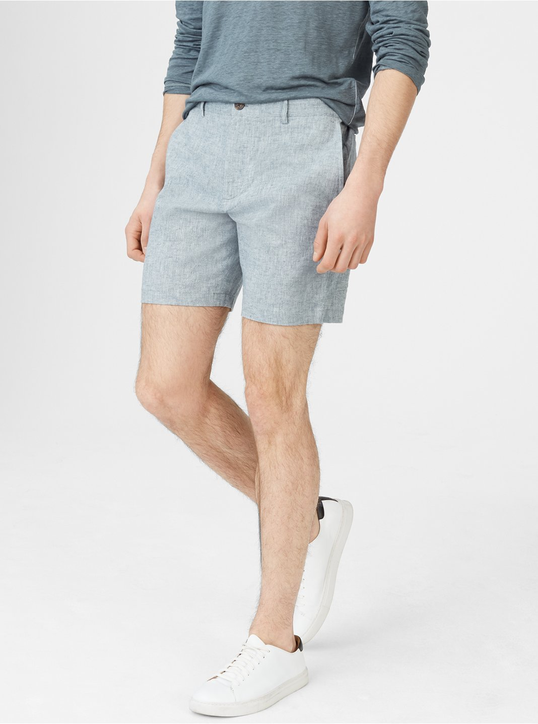 클럽 모나코 Club Monaco Baxter 7 Chambray Short
