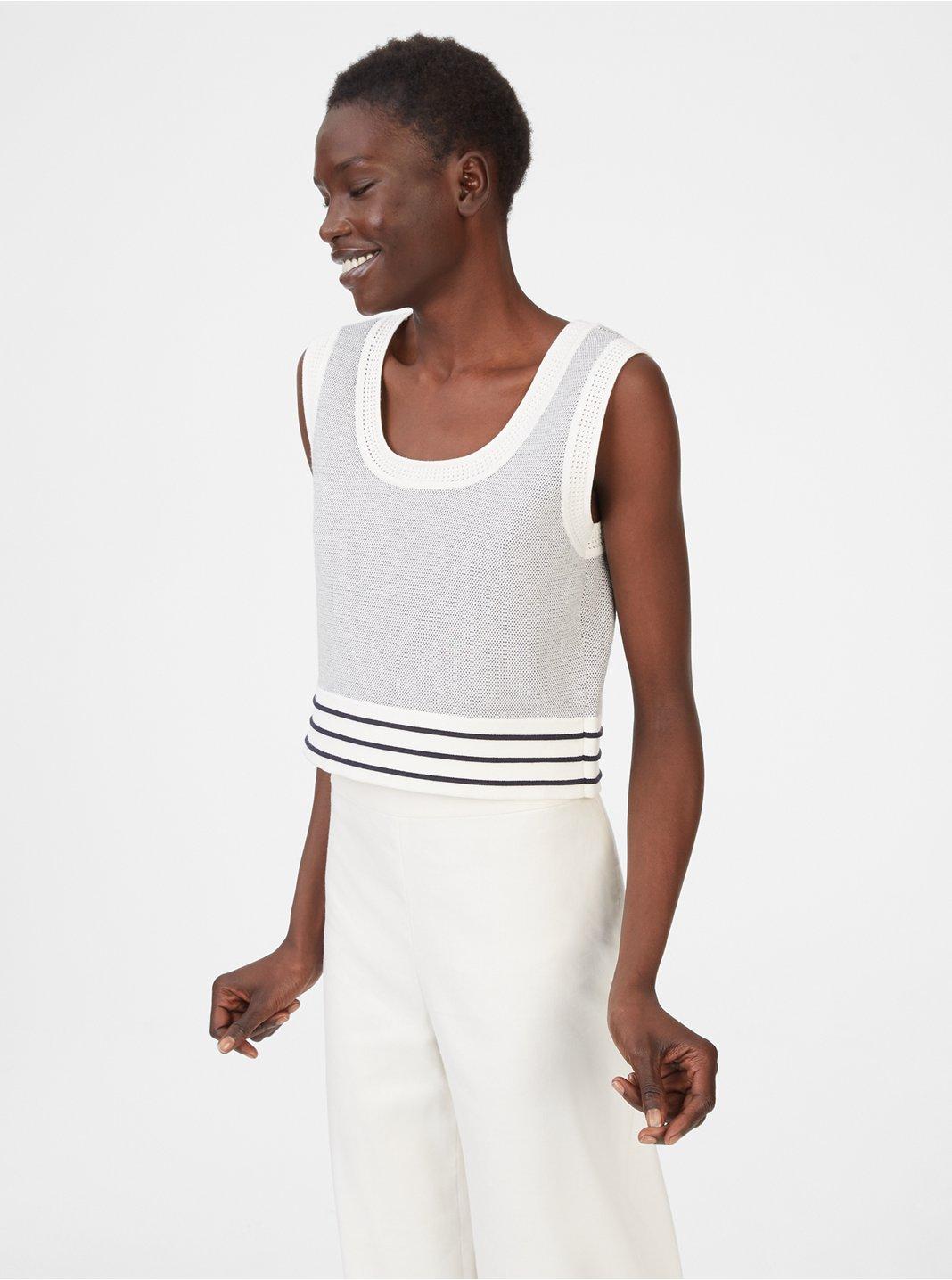 클럽 모나코 스웨터 Club Monaco Zloane Sweater,White Multi