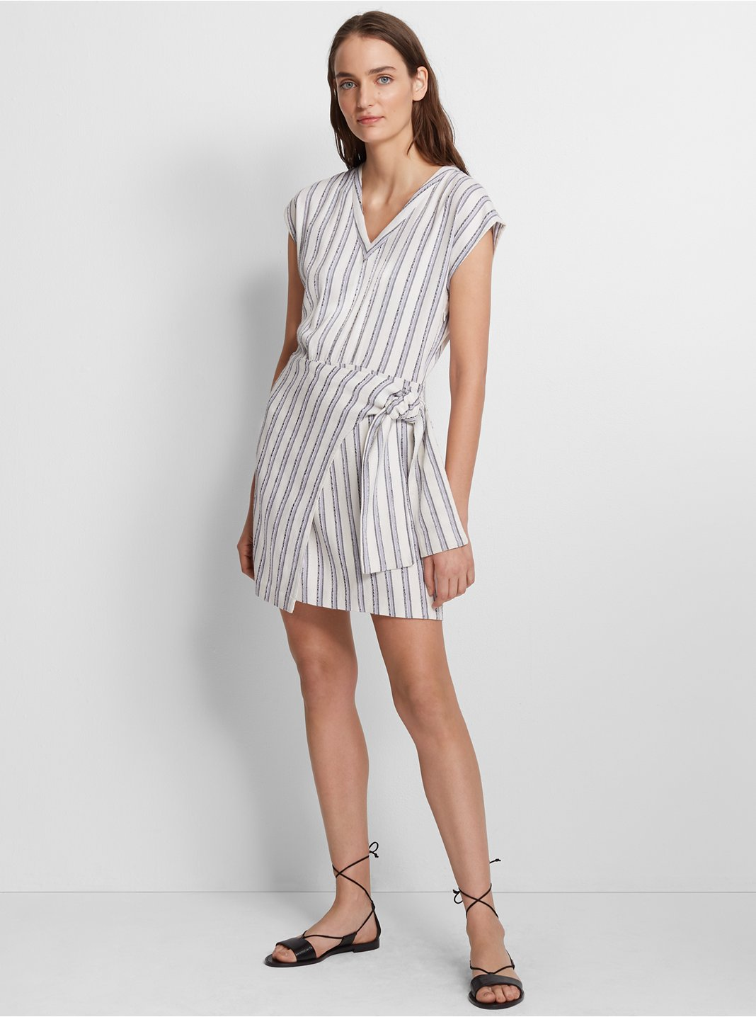 클럽 모나코 Club Monaco Ashantii Dress,Stripe