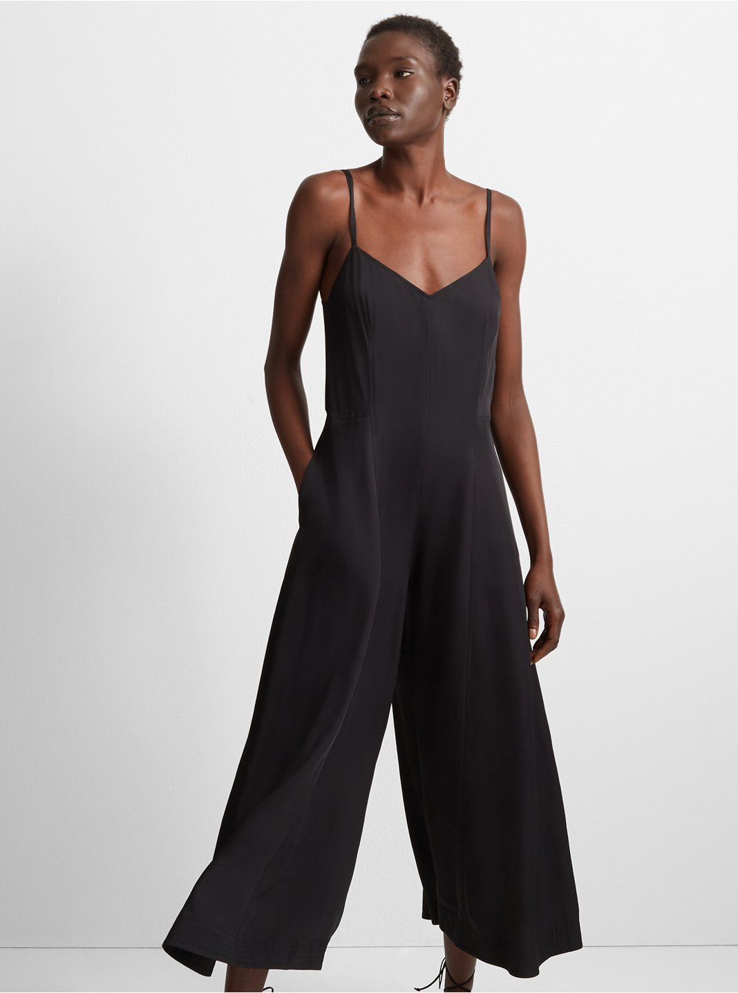 클럽 모나코 Club Monaco Naomyie Jumpsuit,Black