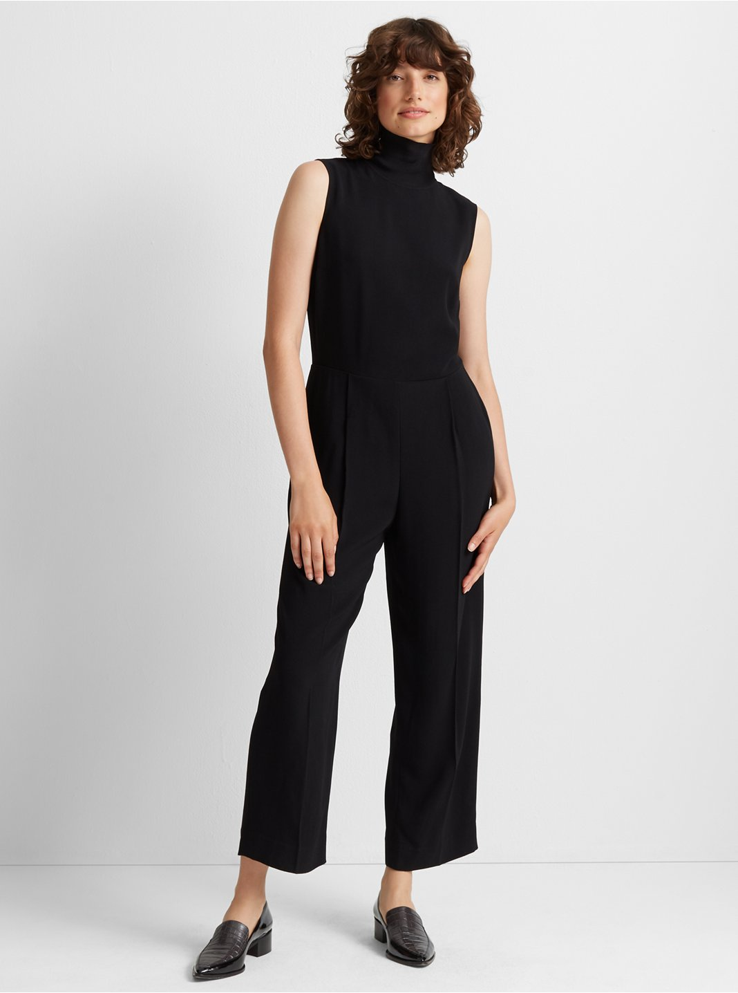 클럽 모나코 Club Monaco Rib Neck Jumpsuit