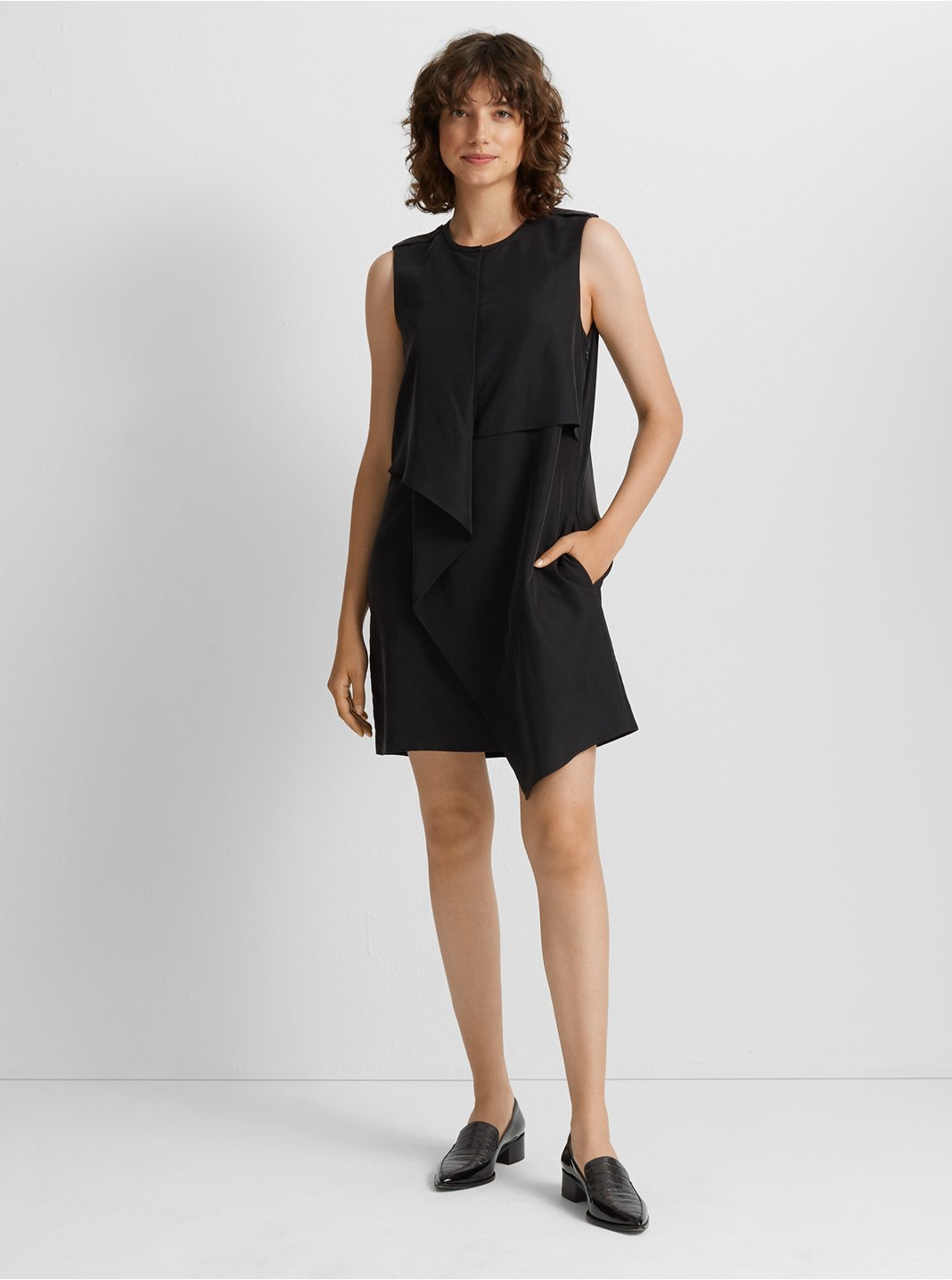 클럽 모나코 Club Monaco Drape Front Dress