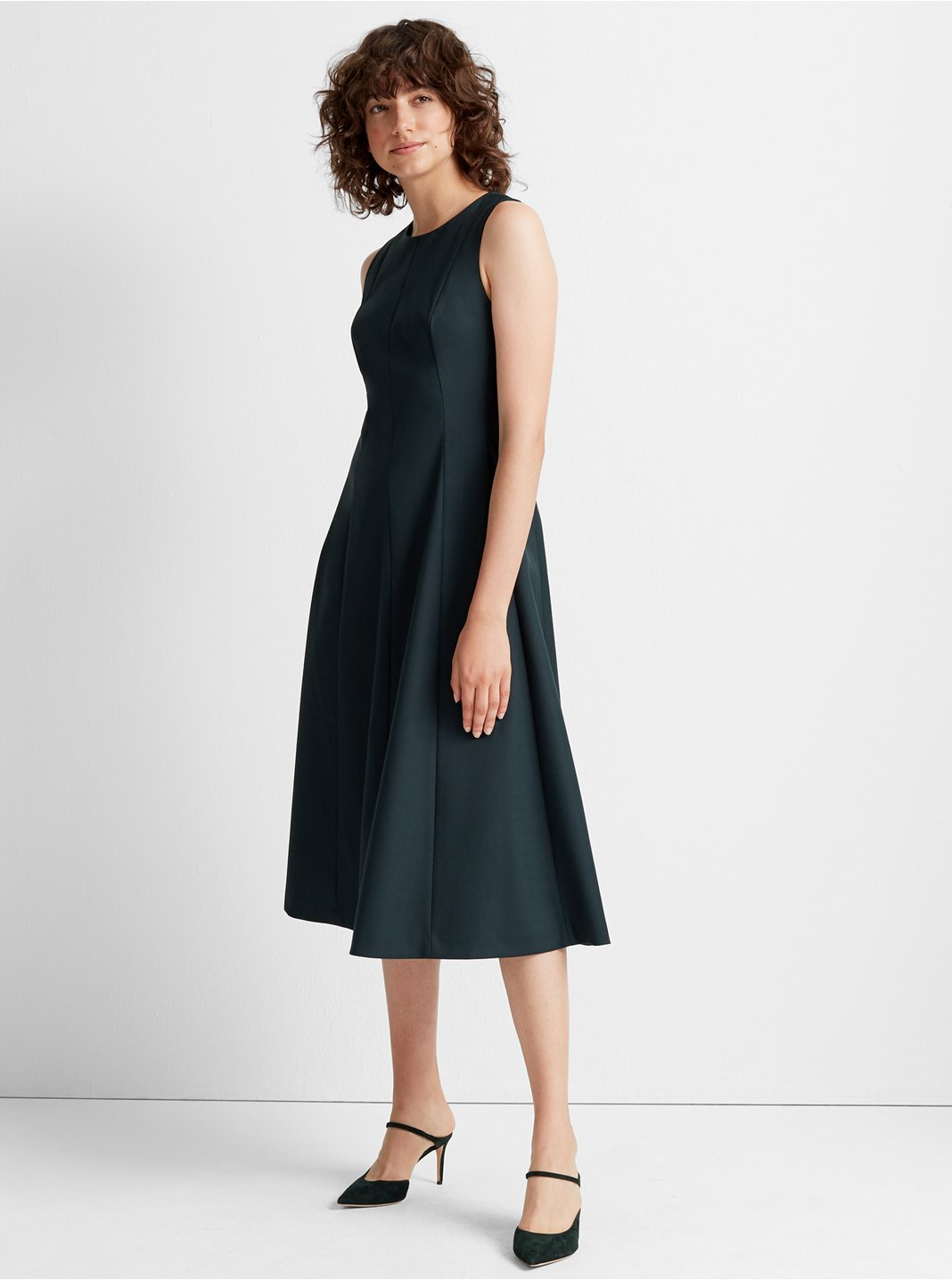 클럽 모나코 Club Monaco Paneled Midi Dress
