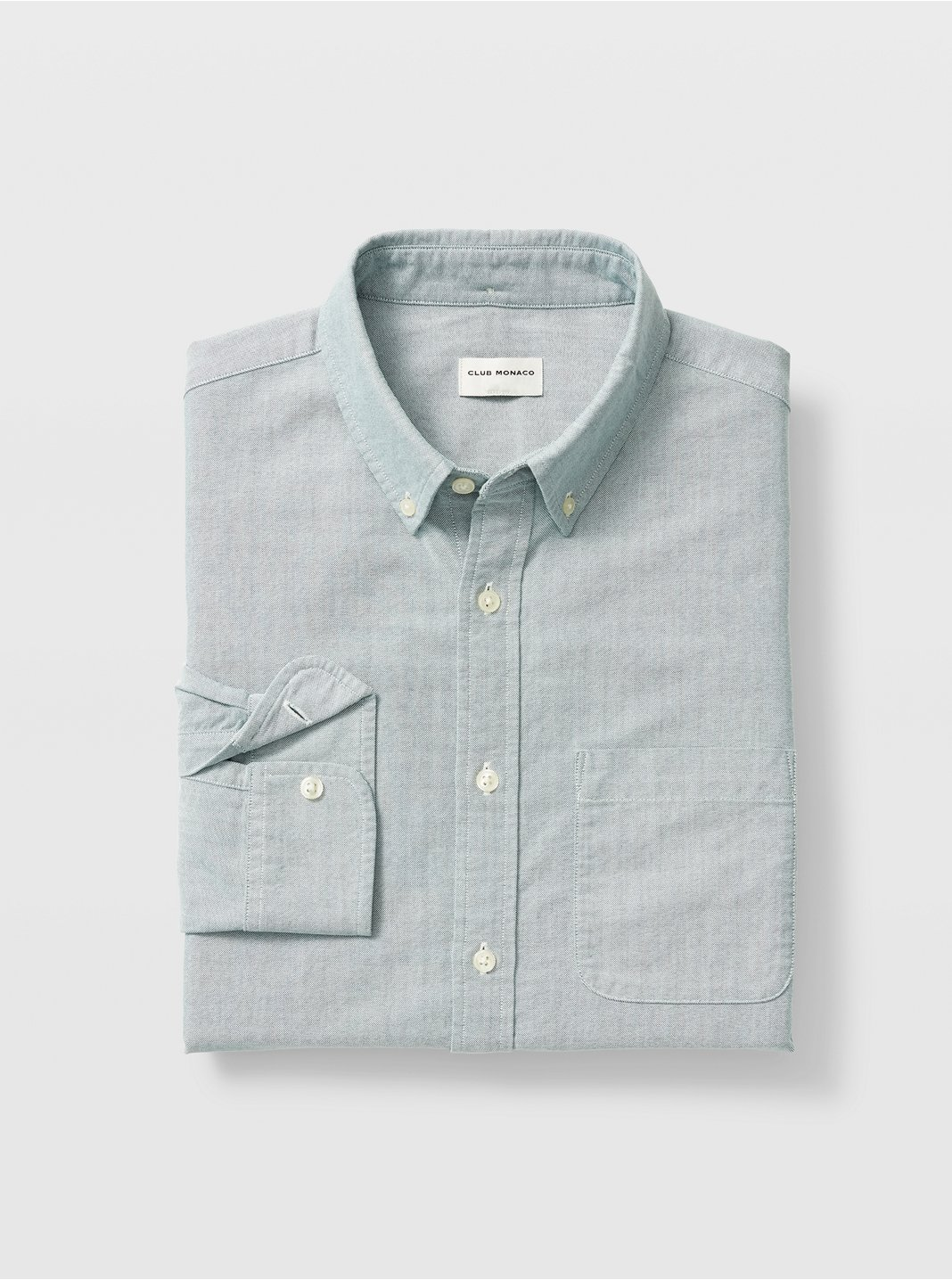 클럽 모나코 Club Monaco Oxford Solid Shirt