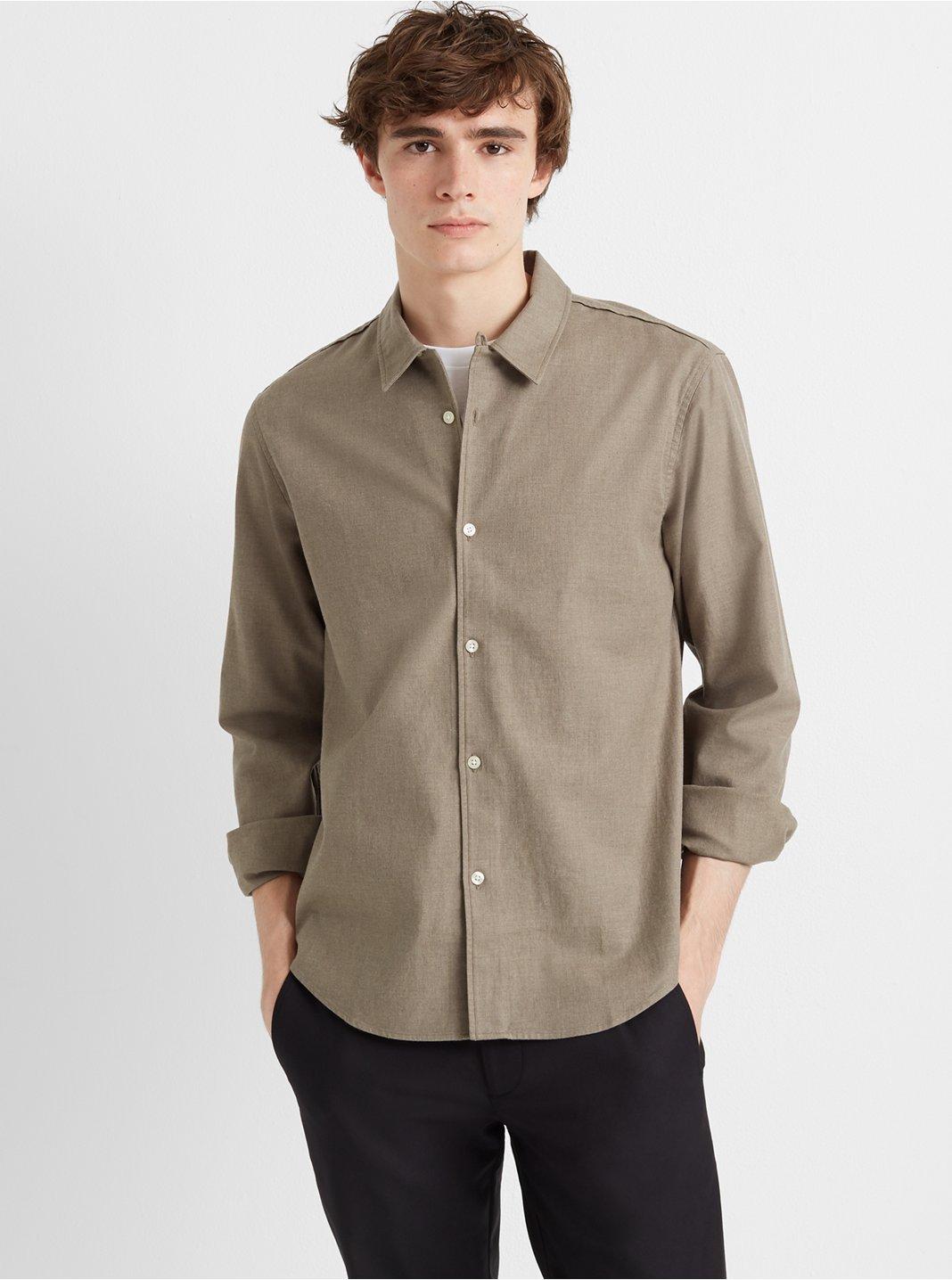 클럽 모나코 Club Monaco Loop Collar Texture Shirt