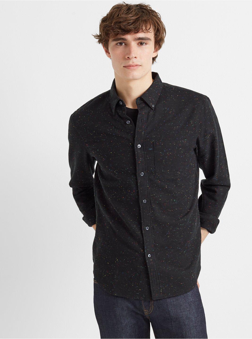 클럽 모나코 Club Monaco Slim Donegal Twill Shirt