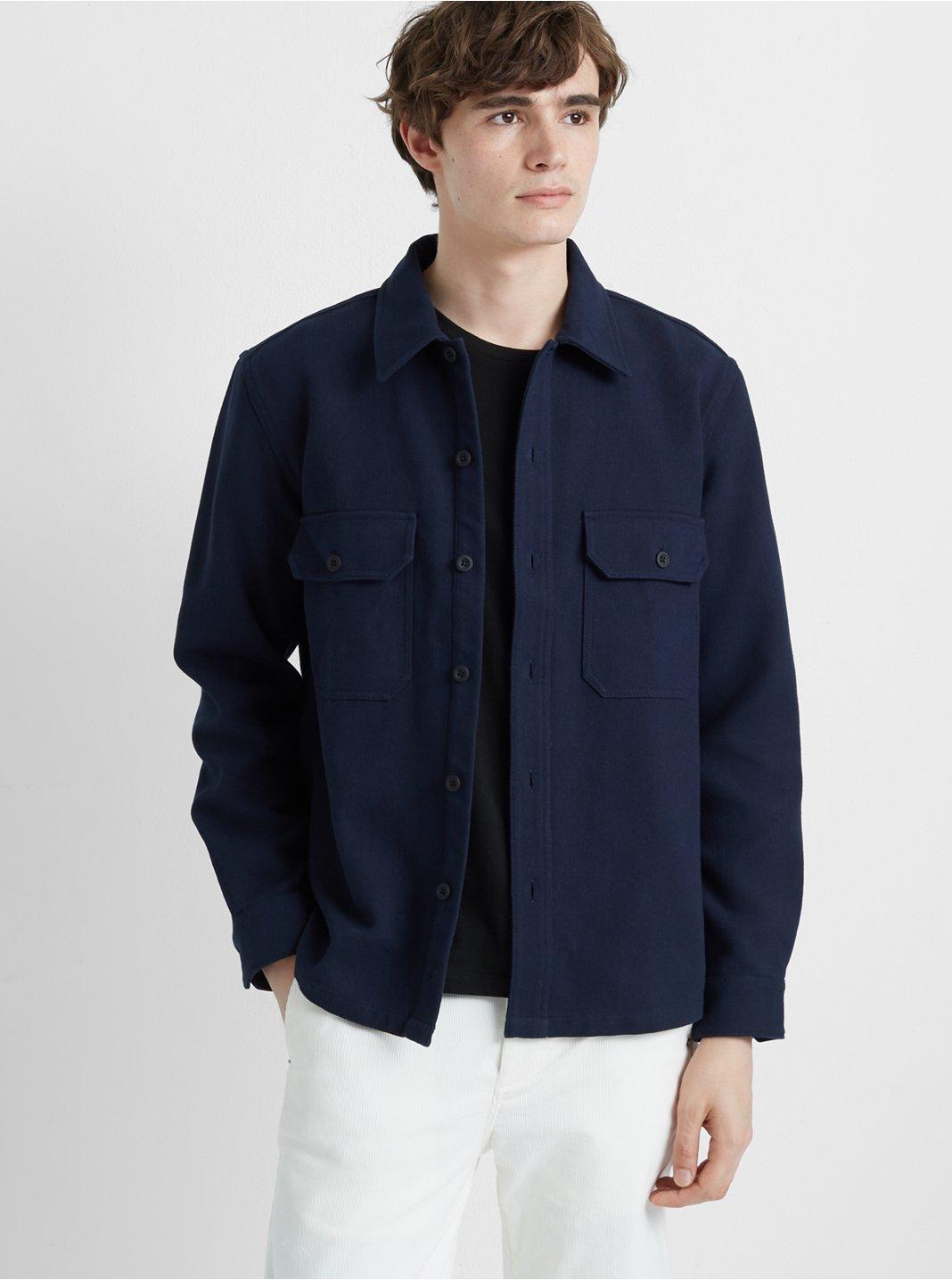 클럽 모나코 Club Monaco Workshirt Jacket,Navy