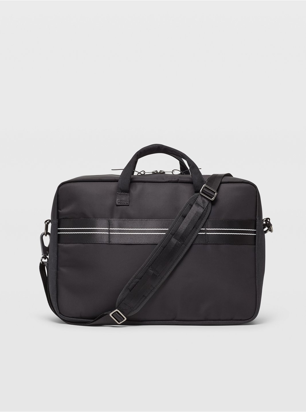 클럽 모나코 서류가방 Club Monaco Nylon Briefcase,Black