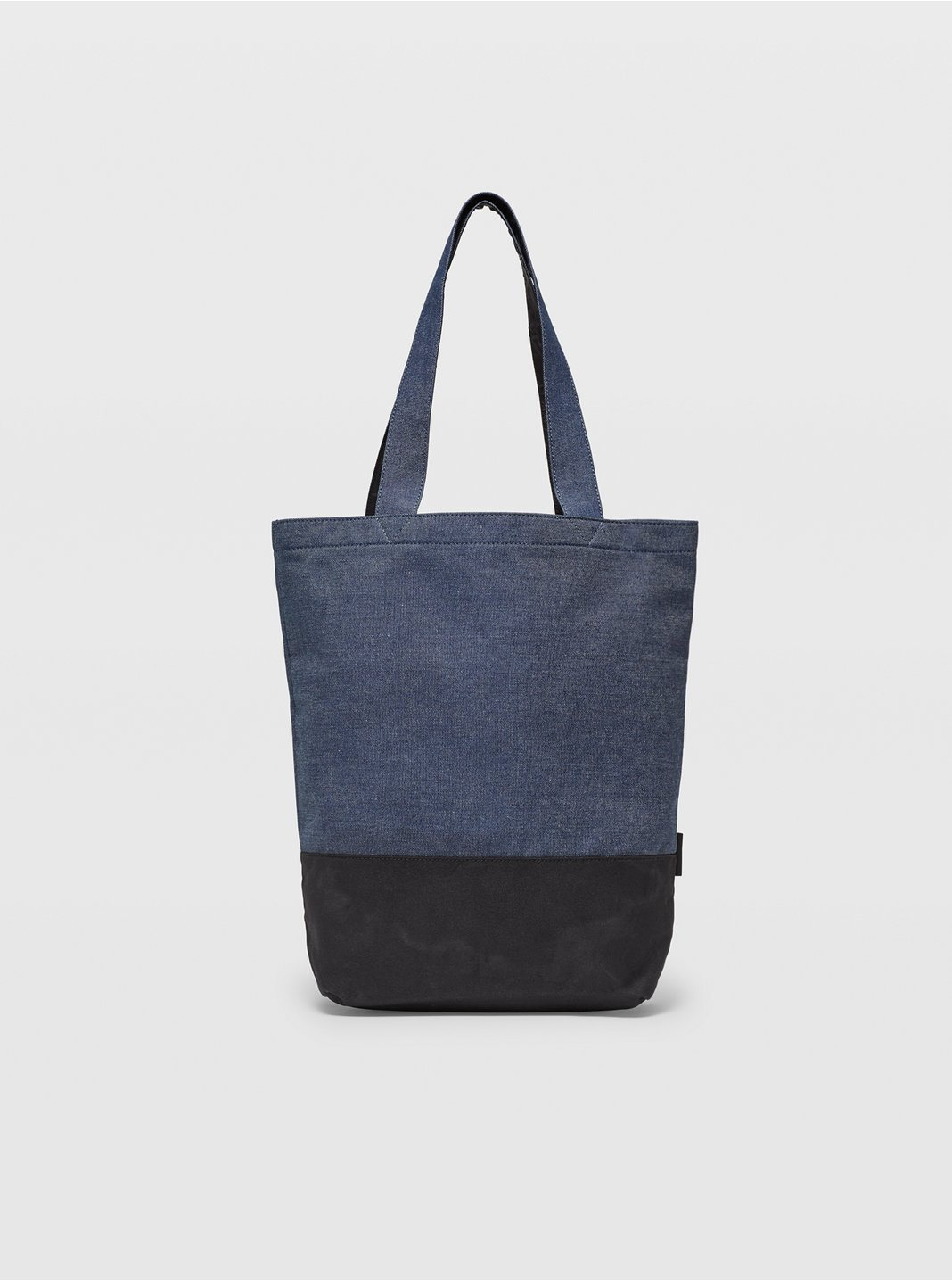 클럽 모나코 토트백 Club Monaco Mixed Media Tote,Blue/Black Multi