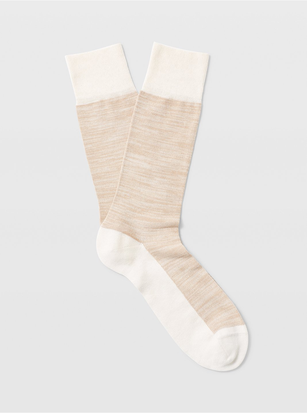 클럽 모나코 양말 Club Monaco Spacedye Sock,Tan