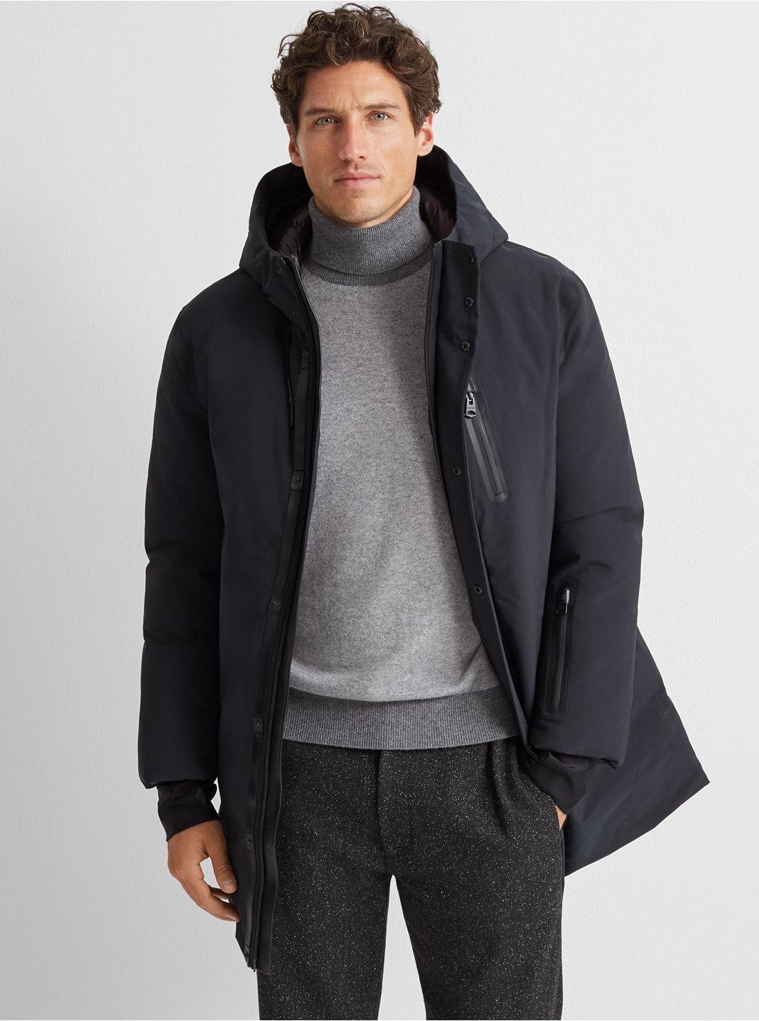 클럽 모나코 코트 Club Monaco Mackage Chano Coat,Black