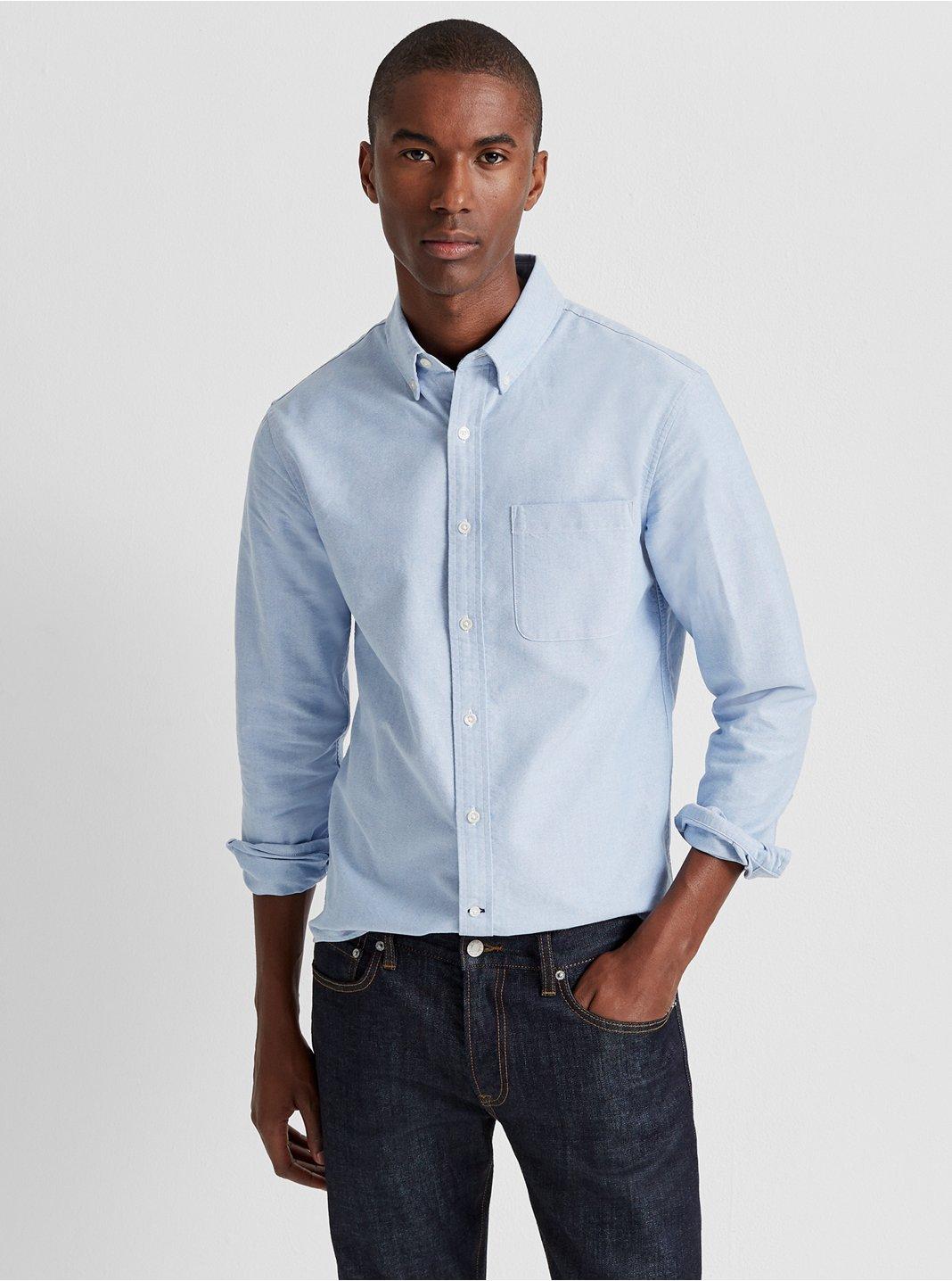 클럽 모나코 맨 옥스포드 셔츠 Club Monaco Standard Fit Oxford Shirt