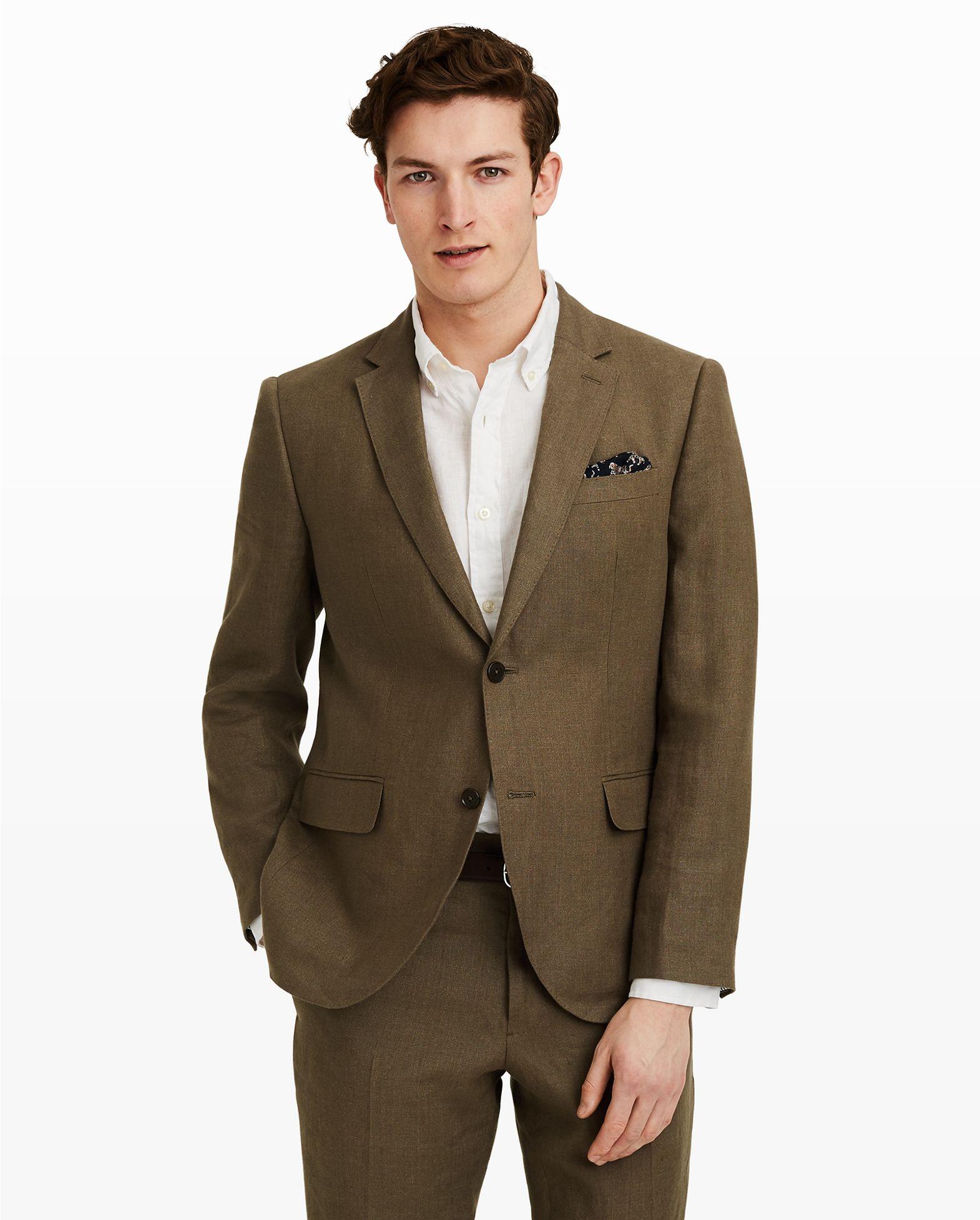9875325694e6 Grant Linen Suit Blazer