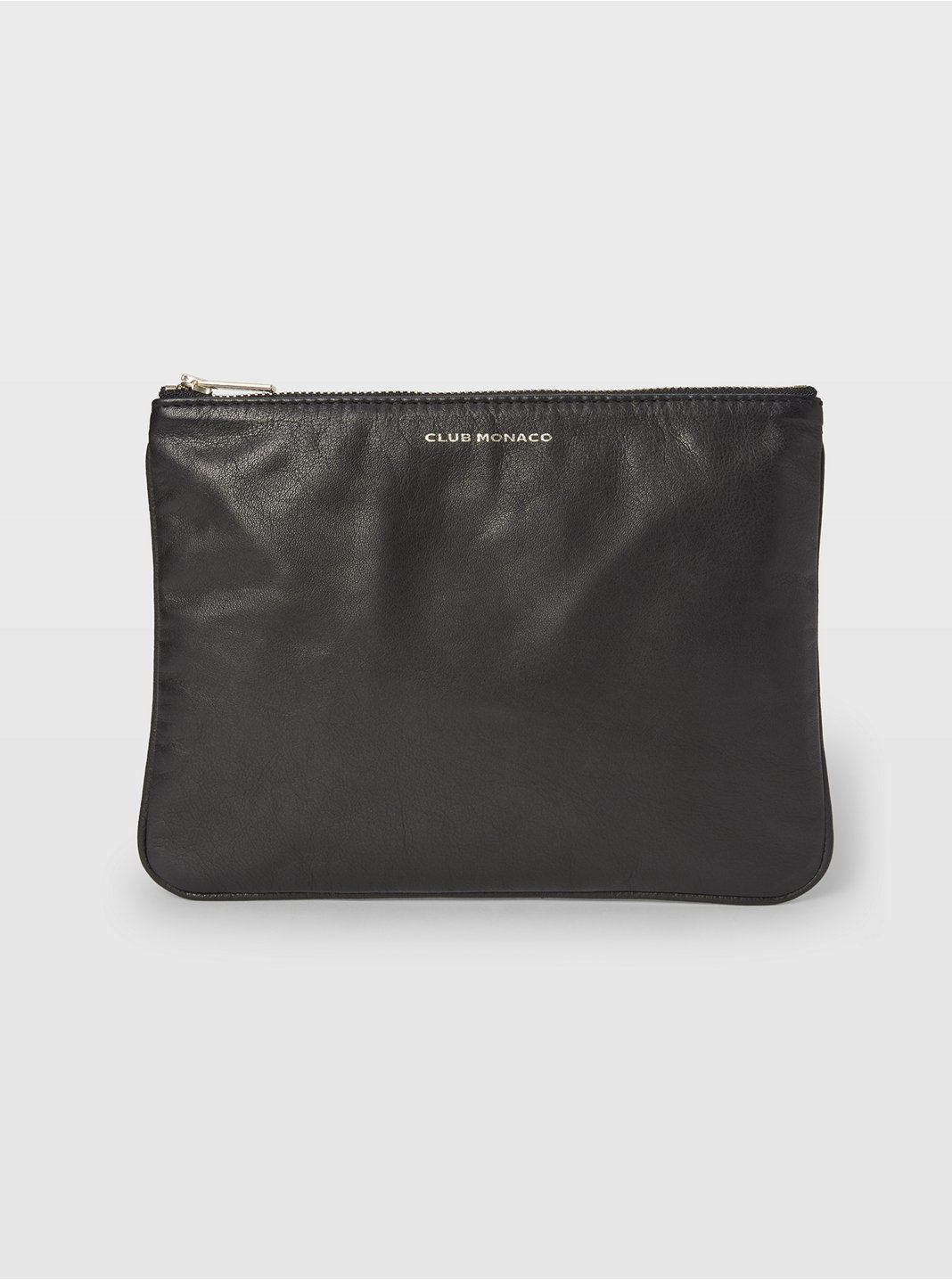 CM Leather Logo Pouch