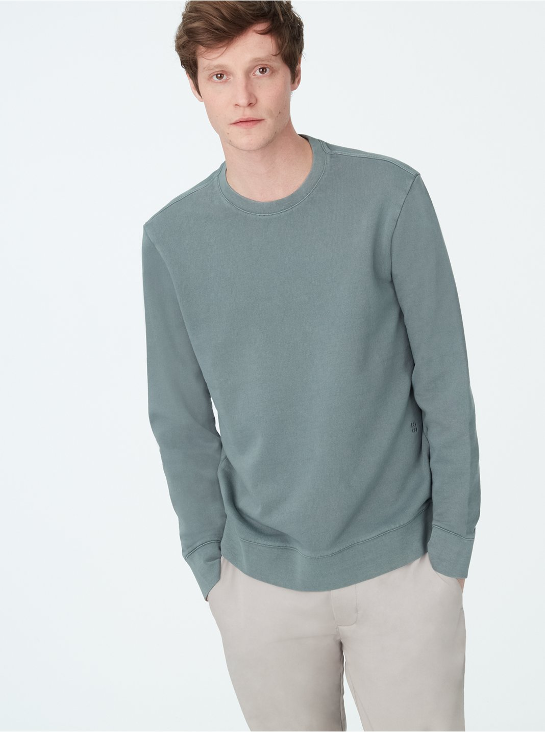 Garment-Dyed Sweatshirt