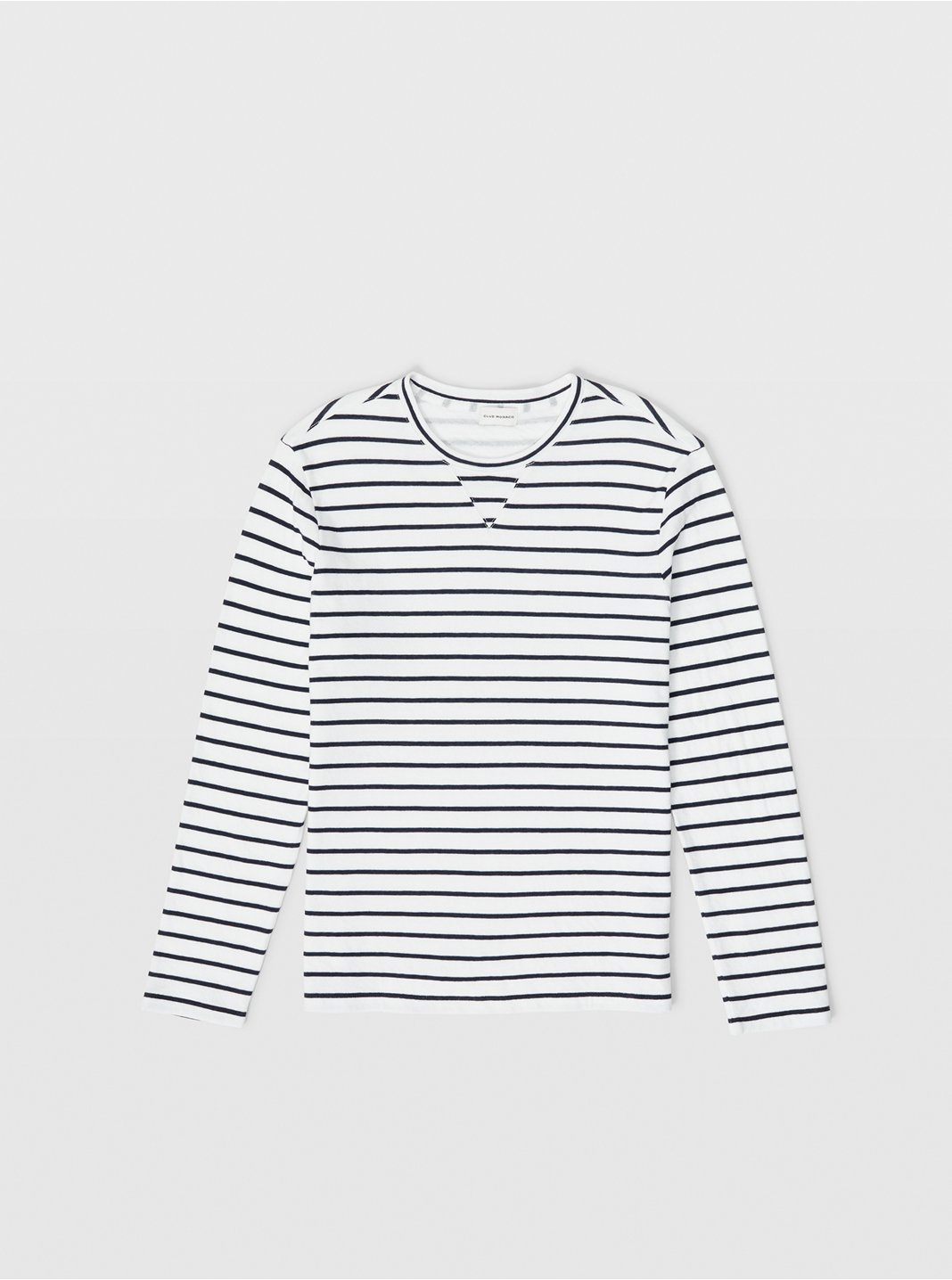 Narrow Stripe Duofold Tee