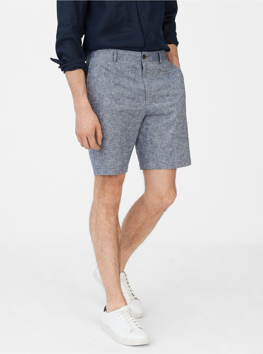 "Maddox 9"" Chambray Short"