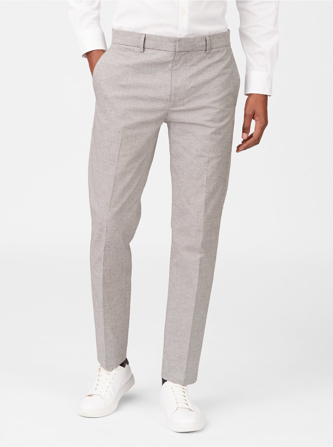 Sutton Houndstooth Dress Pant