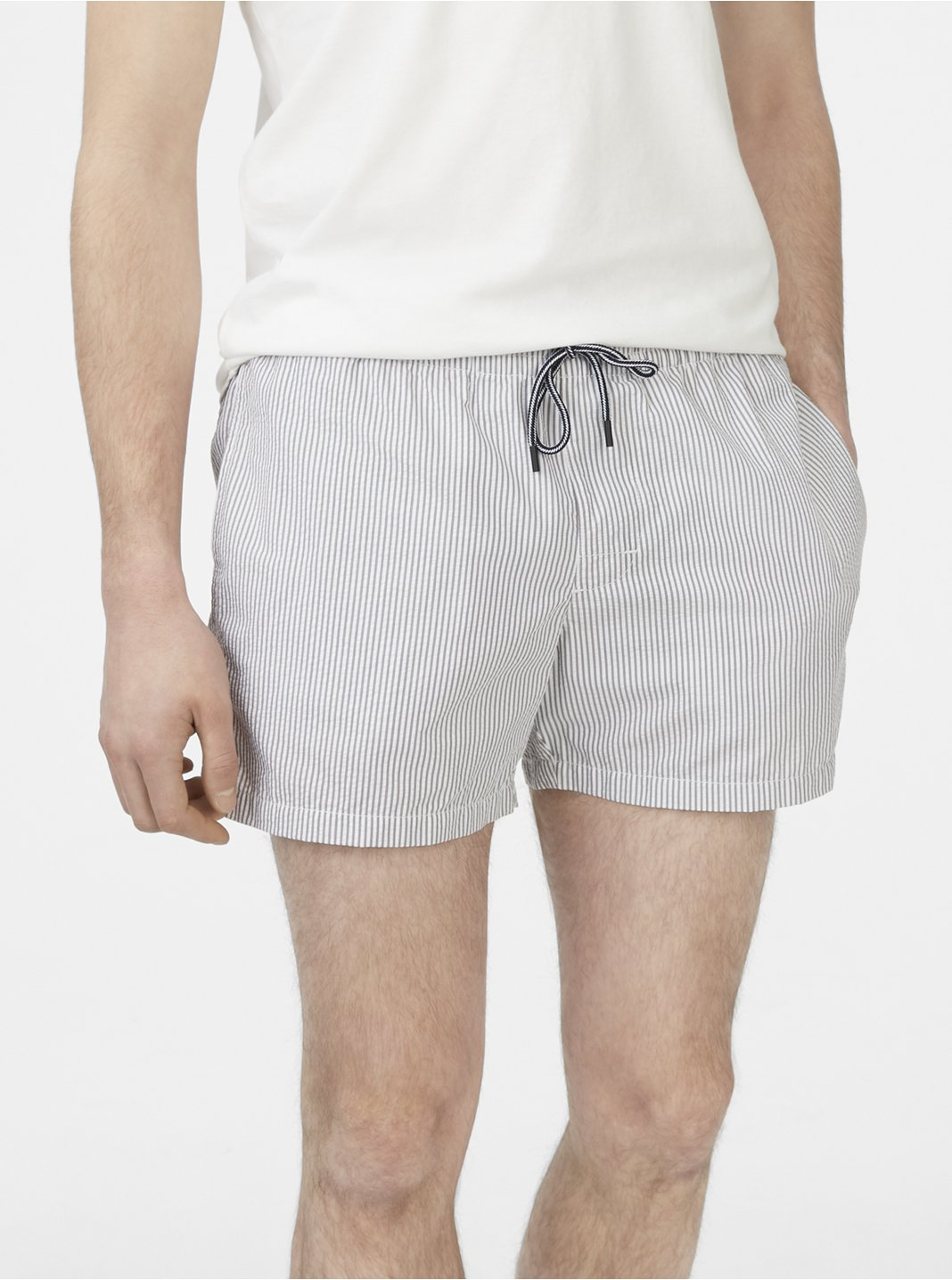 Arlen Seersucker Swim Trunk