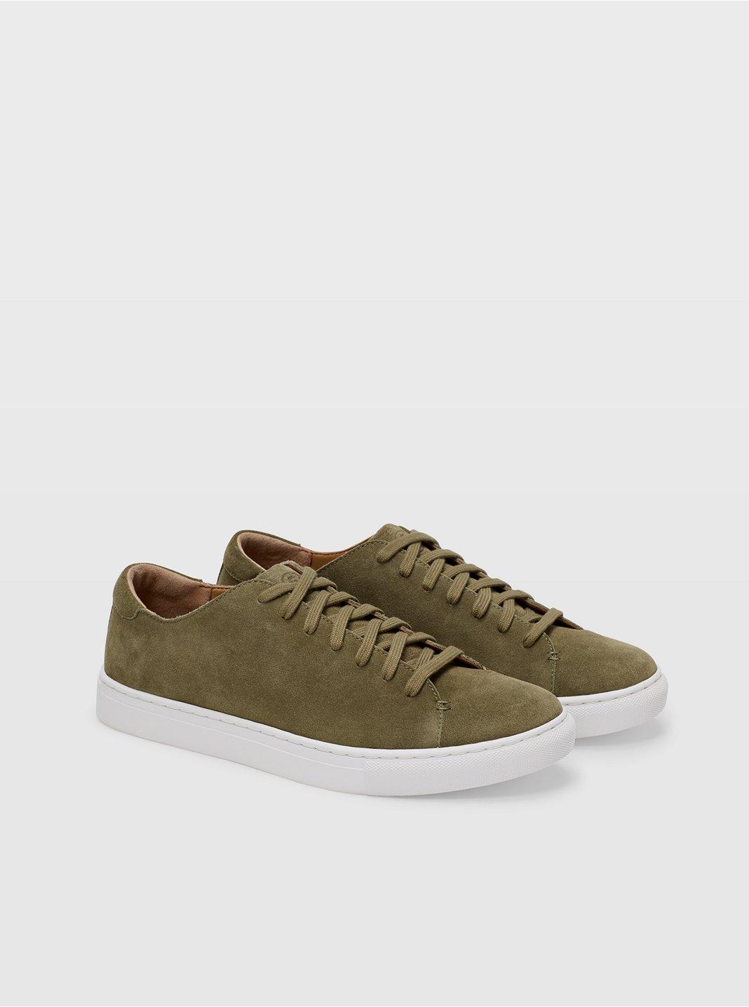 Club Monaco Suede Sneaker
