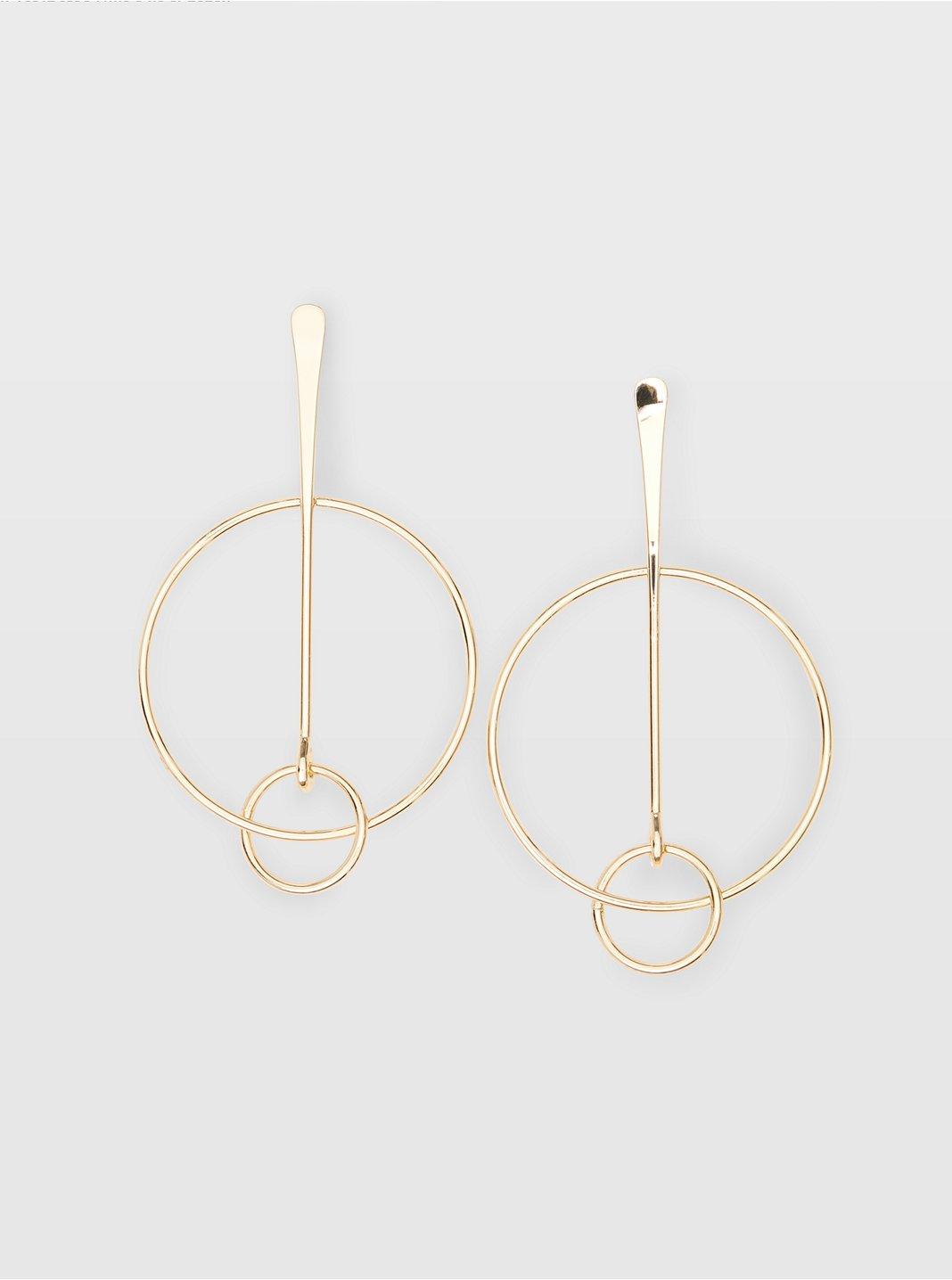 Multi Circle Earring