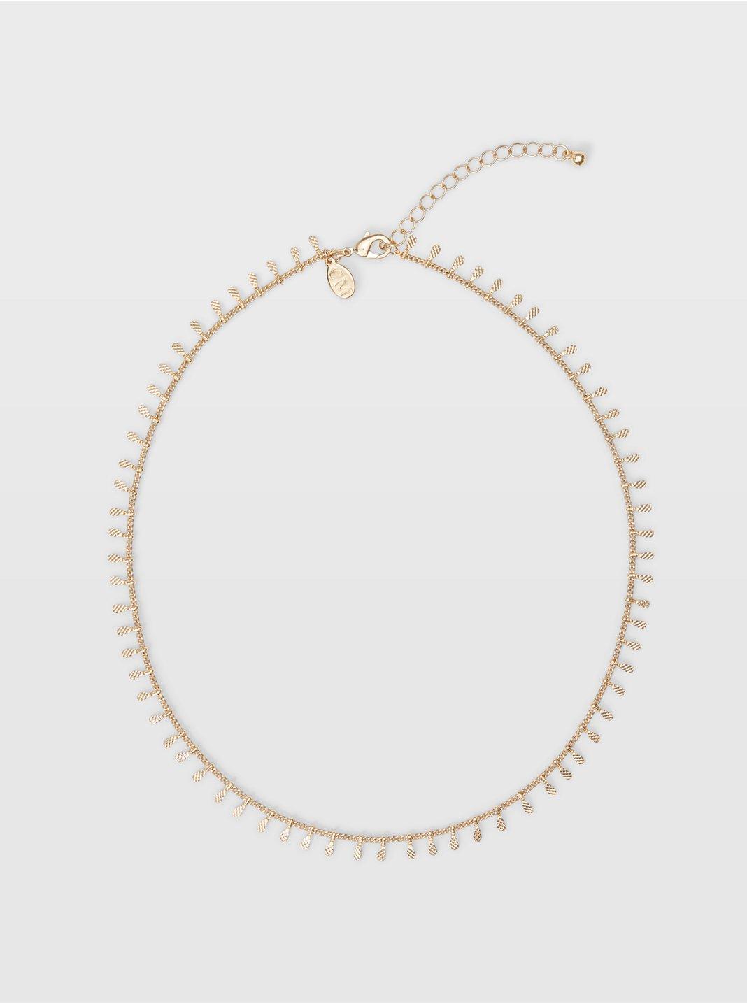 Short Charm Necklace