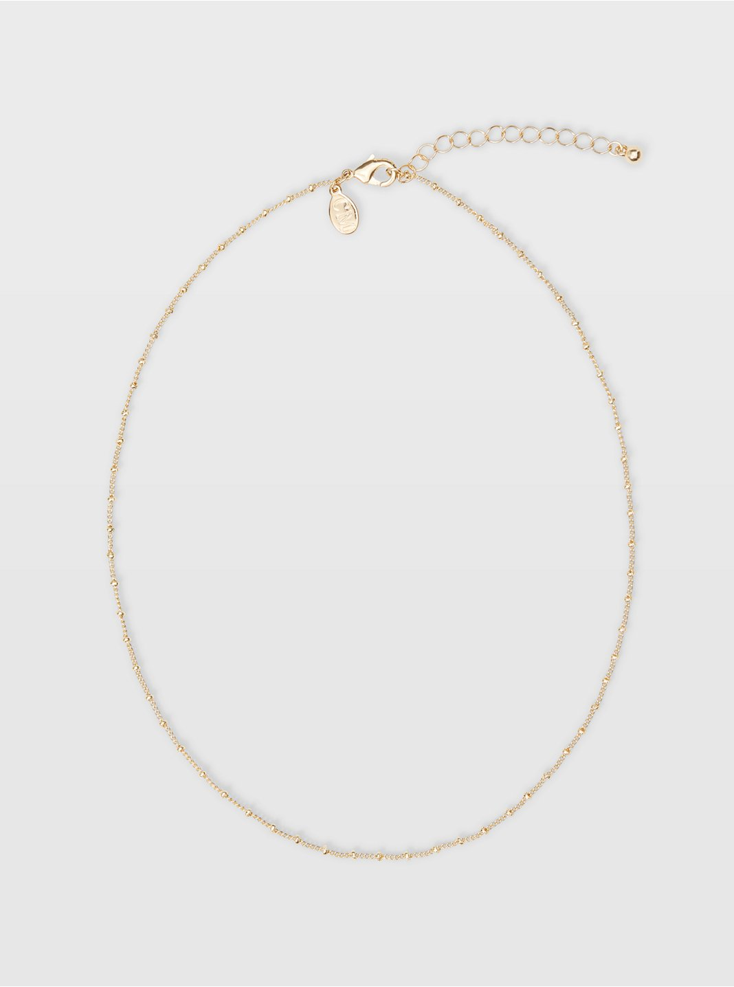 Short Mini Bead Necklace