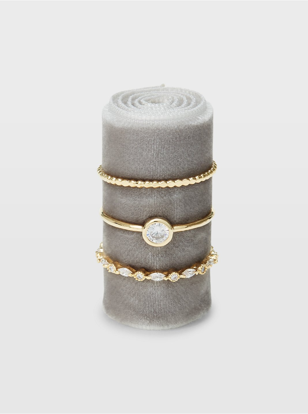 Serefina Bezel Ring Set