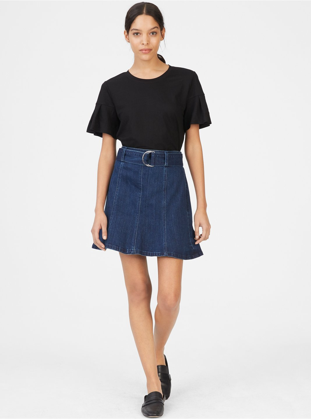 Louiza Denim Skirt