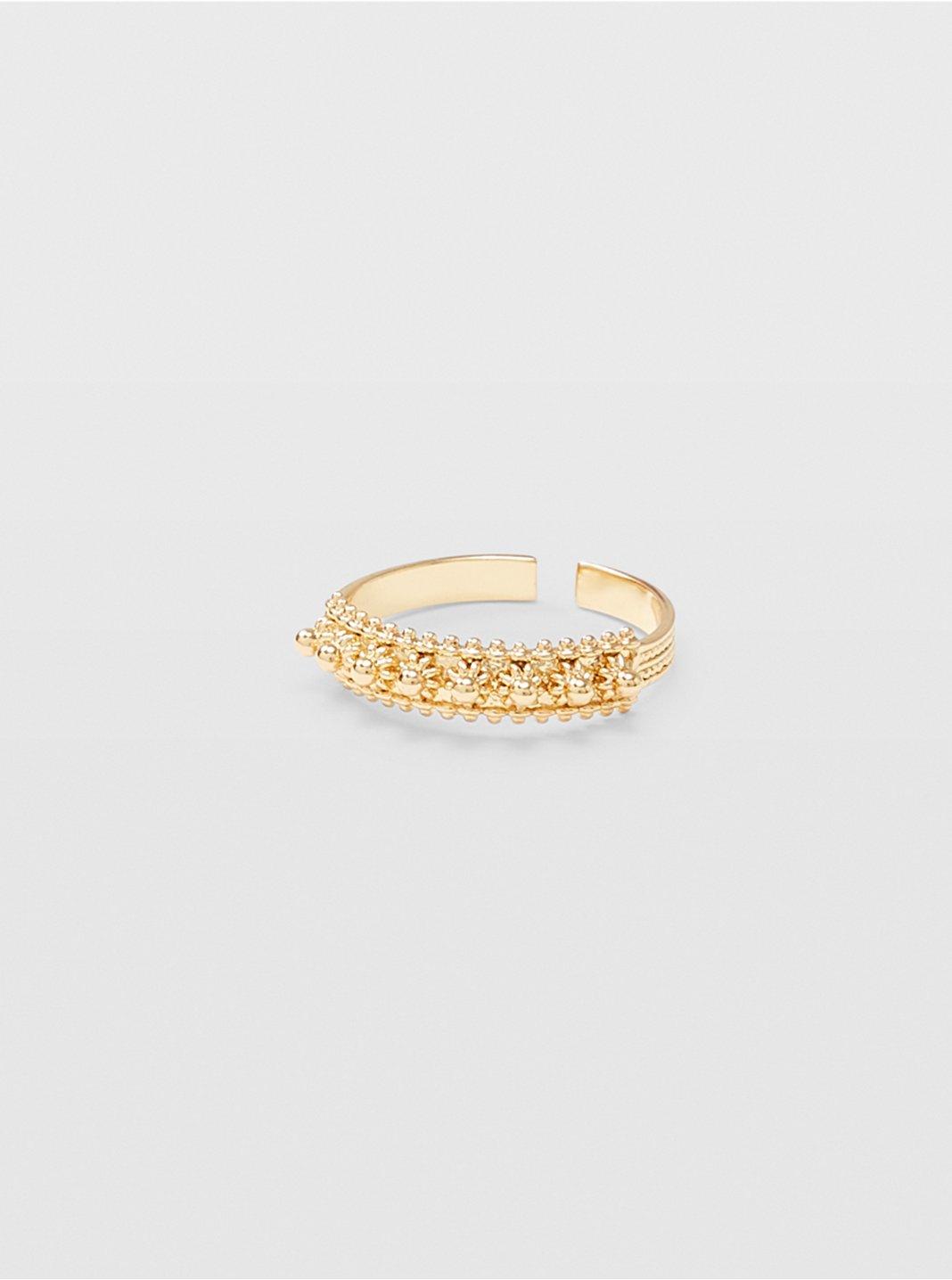 Filigree Flower Ring