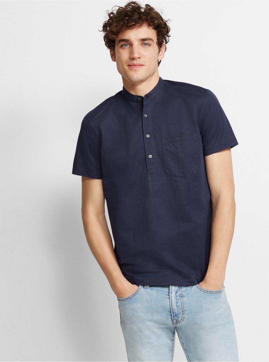 Short-Sleeve Popover