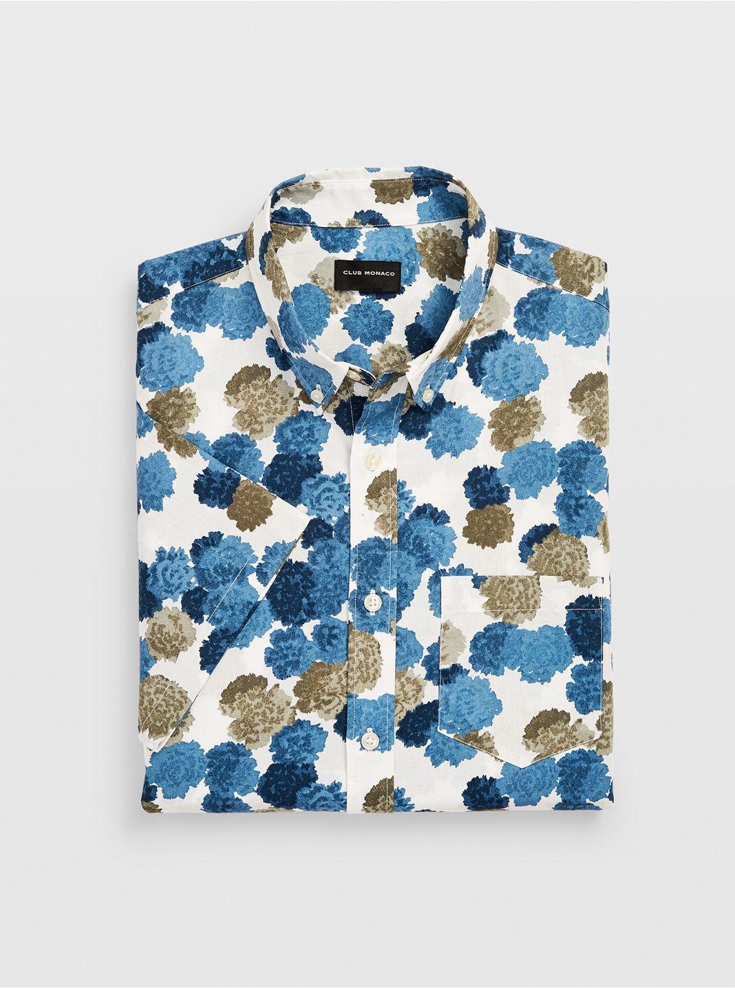 Slim Short-Sleeve Bloom Shirt