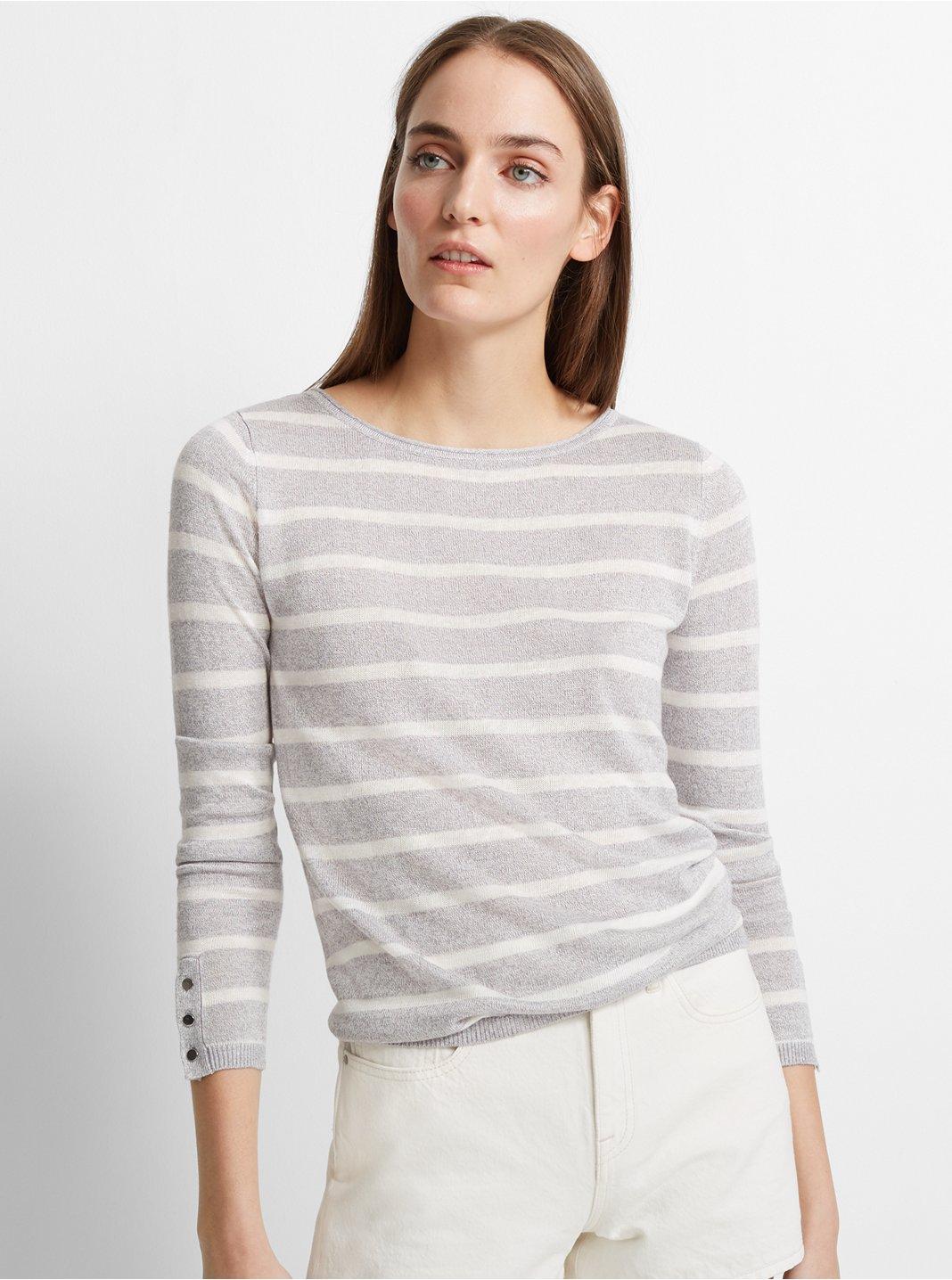 Lana Linen-Blend Sweater