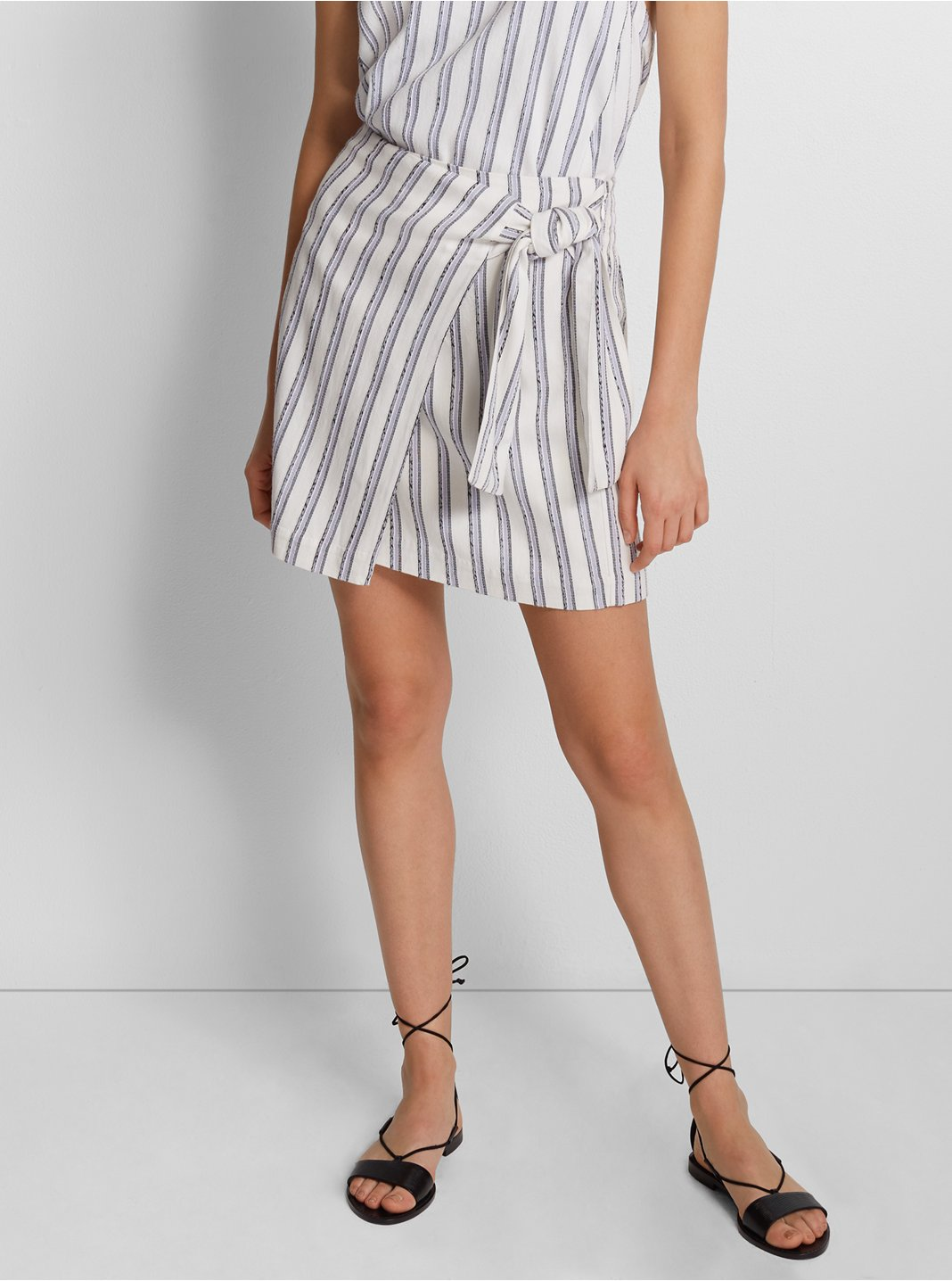 Mairead Striped Skirt