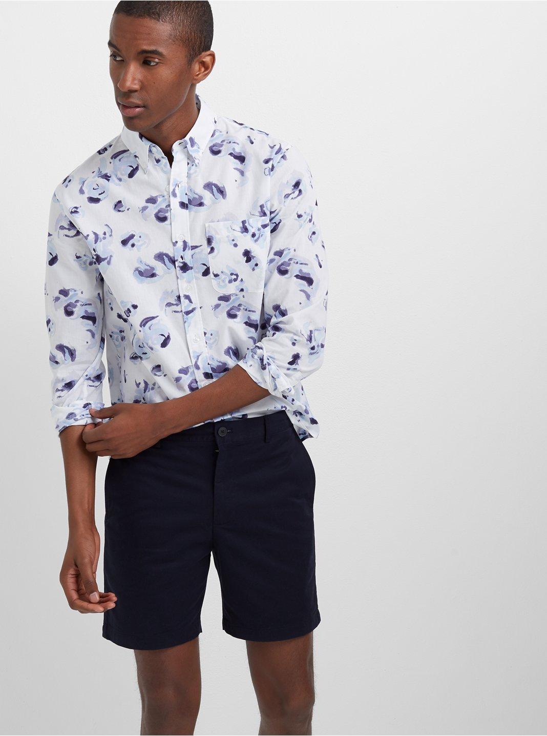 Slim Flores Des Aguas Shirt
