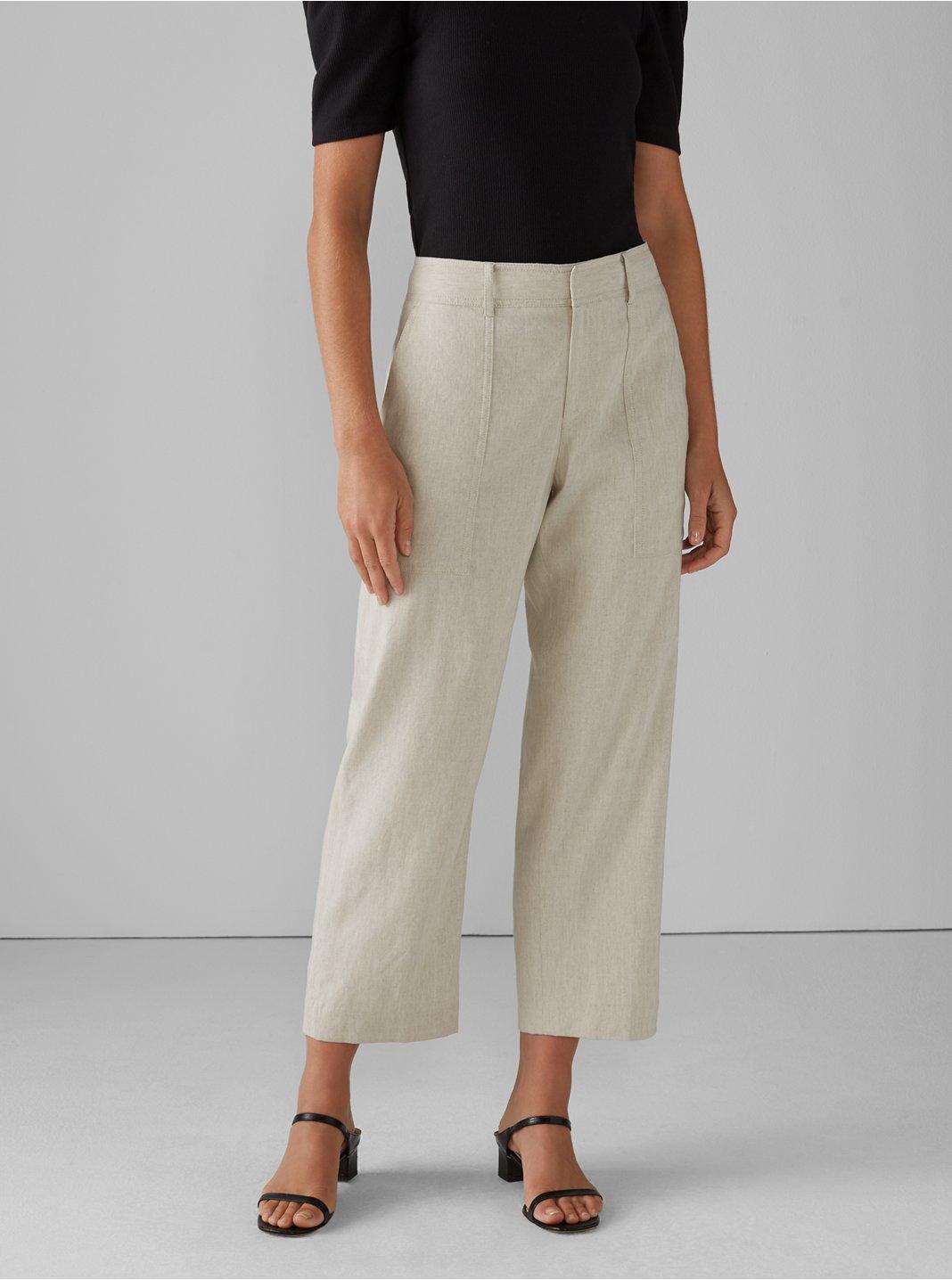Hadarahh Linen-Blend Pant