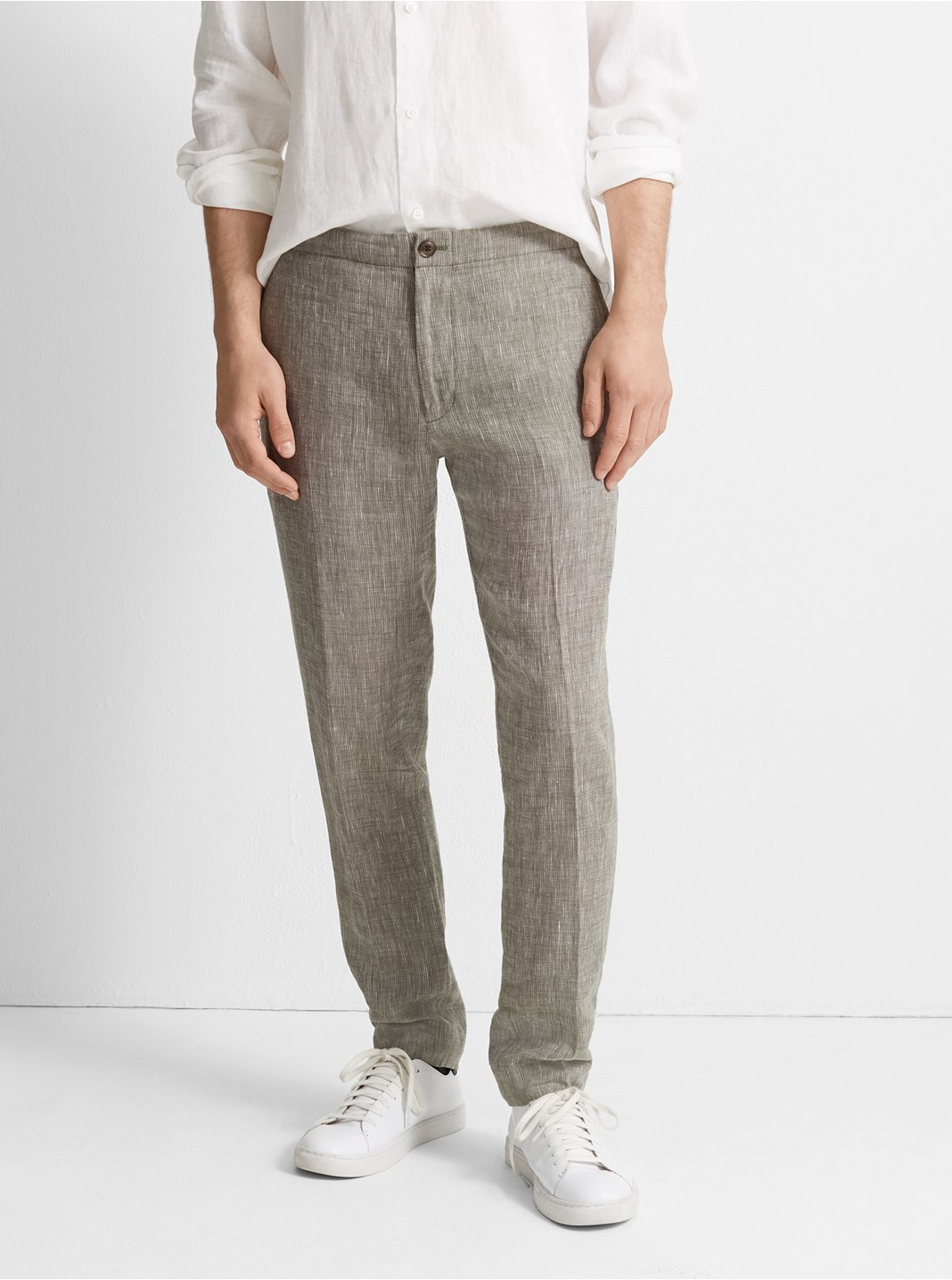 540e08dd8e2890 Suffolk End-On-End Linen Pant