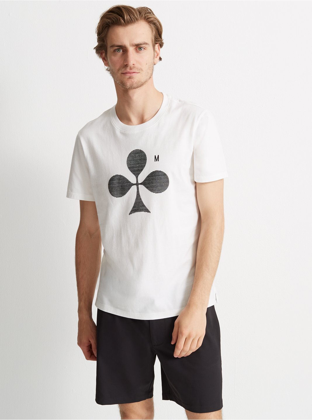 Club Monaco Graphic Tee