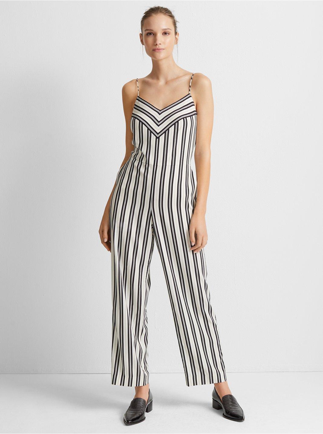 Bar Stripe Jumpsuit