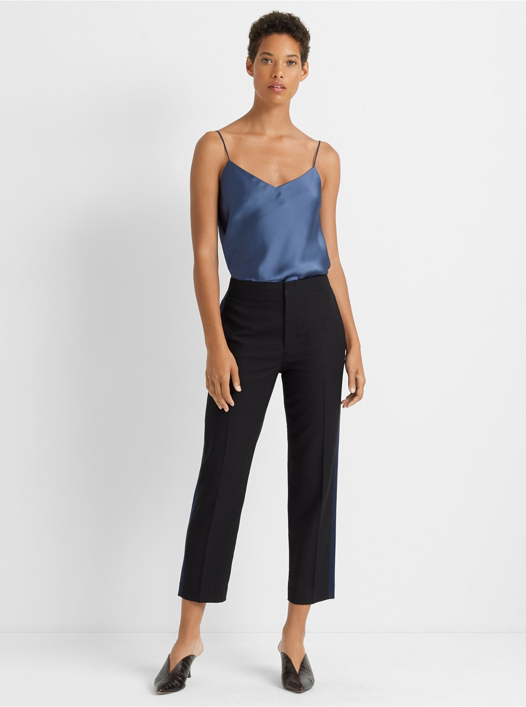 Ryanne Colorblock Wool Pant