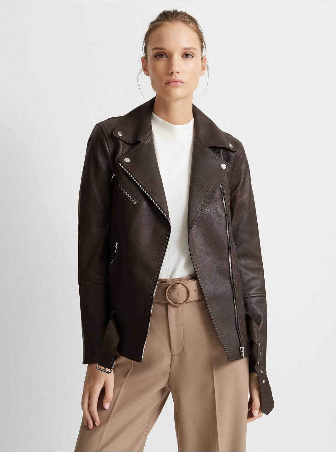 Long Leather Jacket