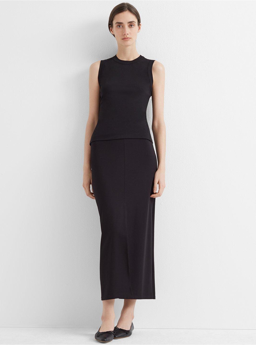 Slim Long Pencil Skirt