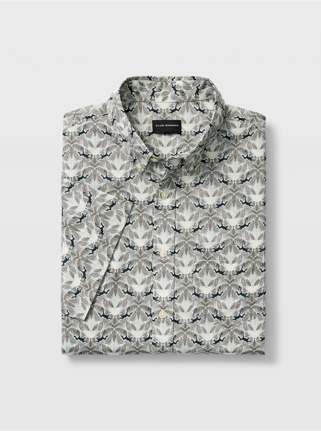 Slim Short-Sleeve Palm Shirt