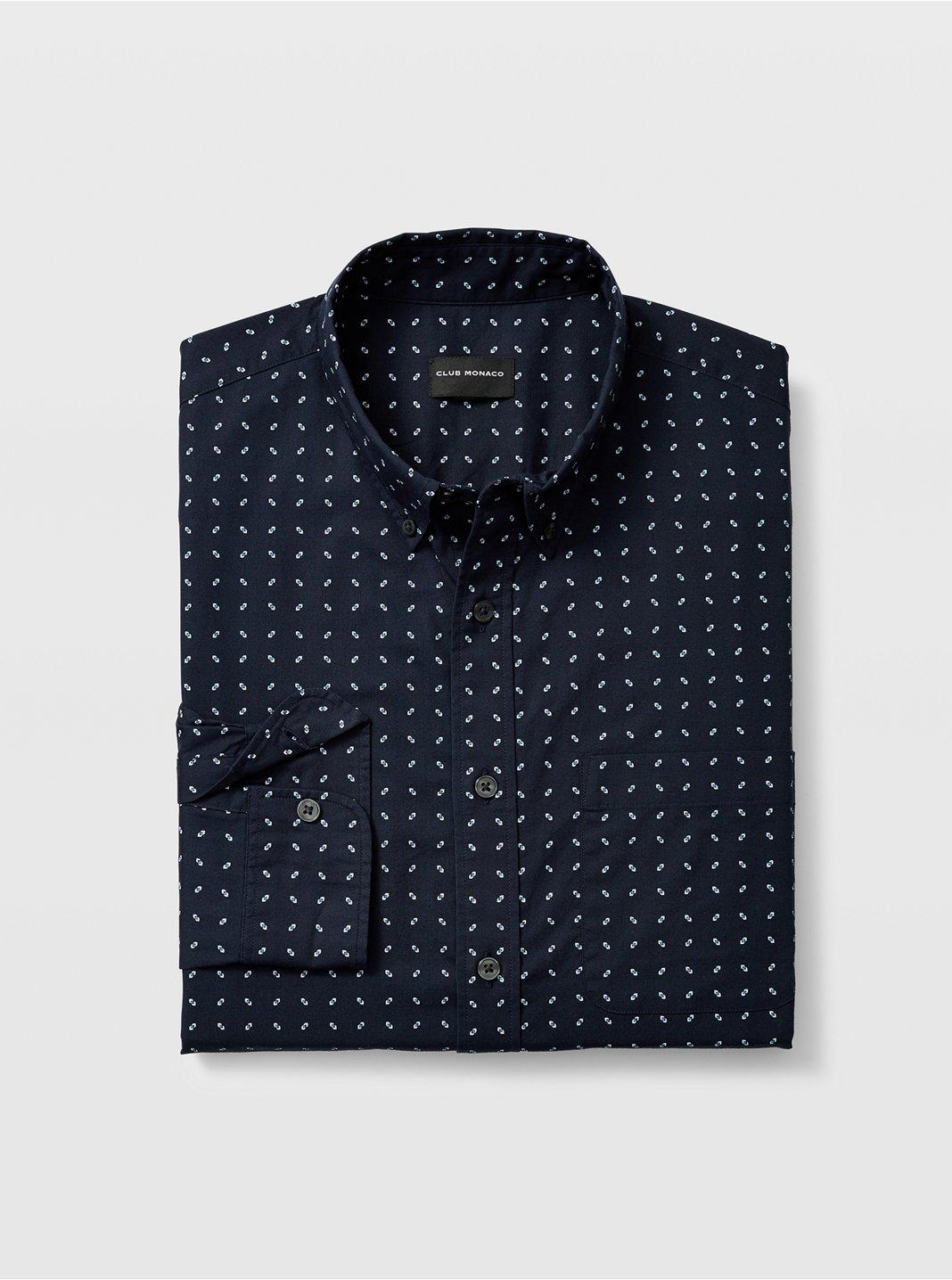 Slim Geo Ditsy Shirt