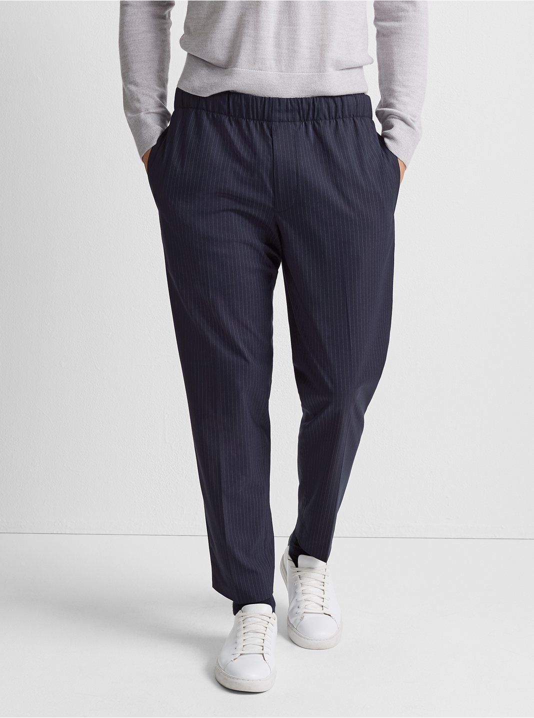 Elasticated Pinstripe Pant