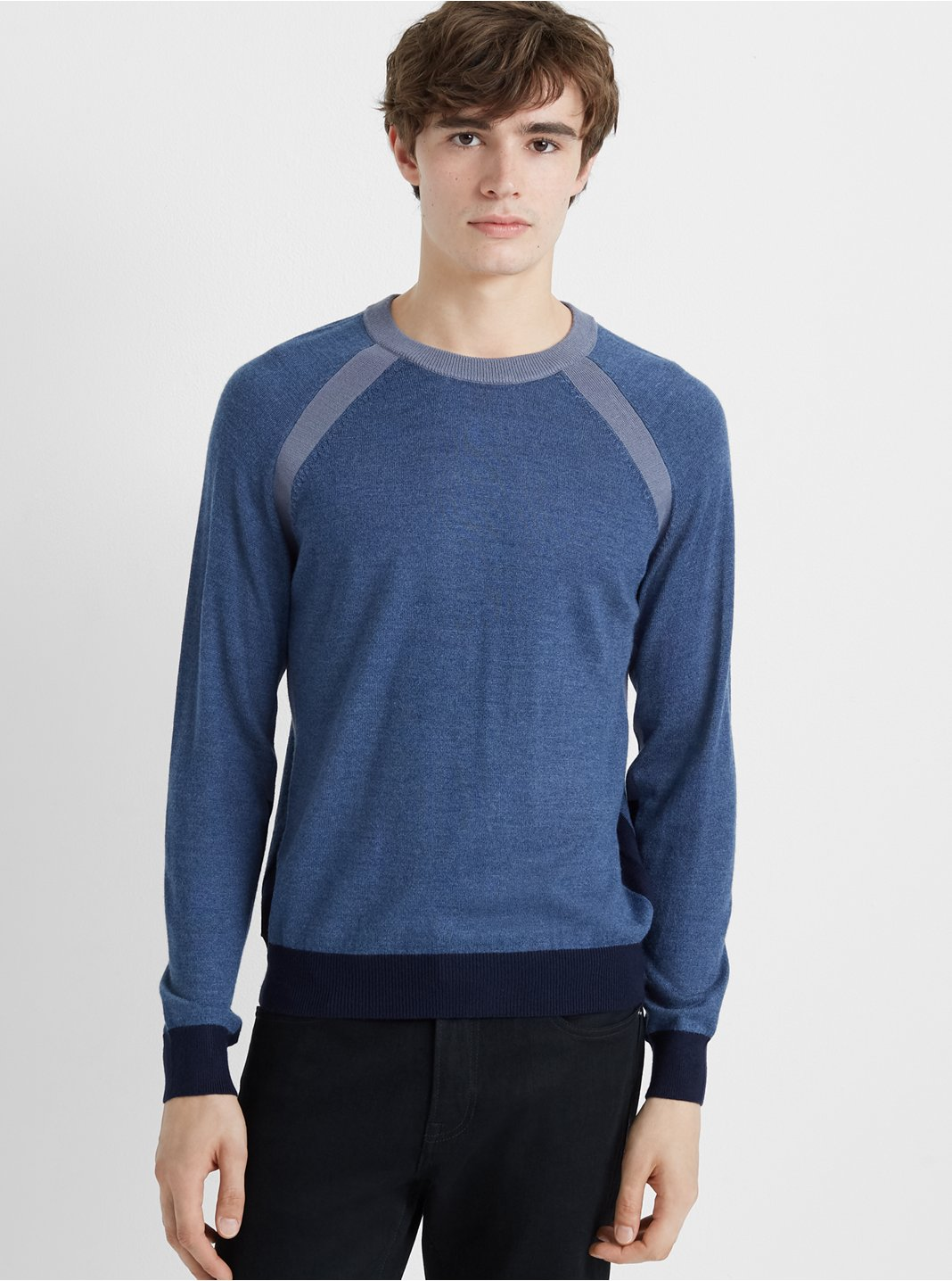 Block Raglan Sweater