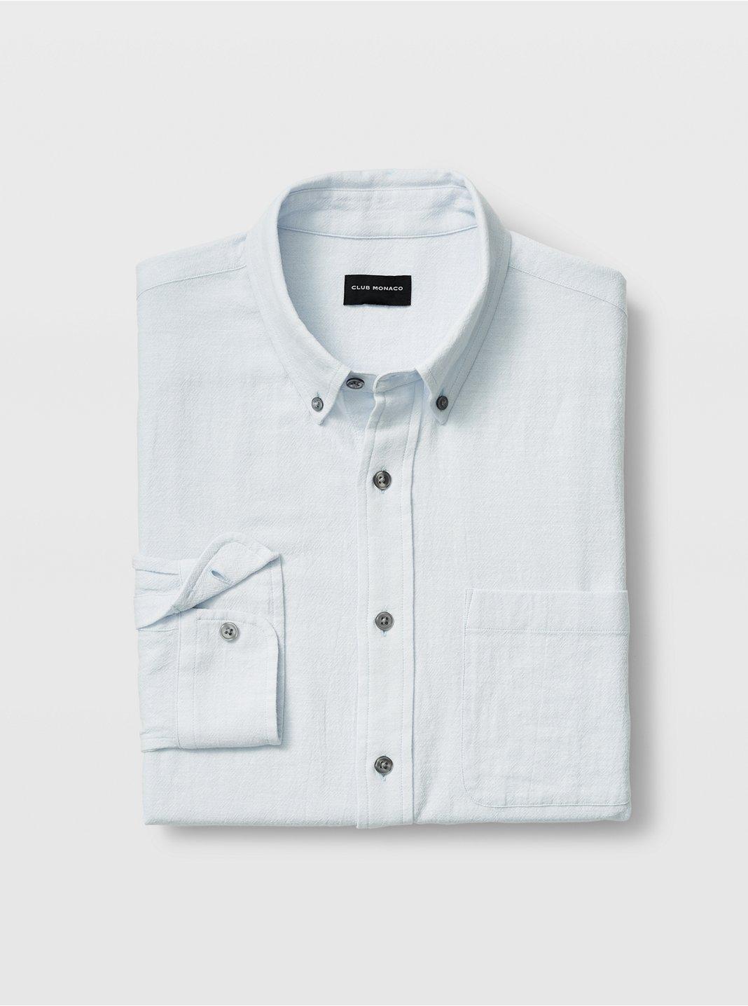 Standard Fit Texture Shirt
