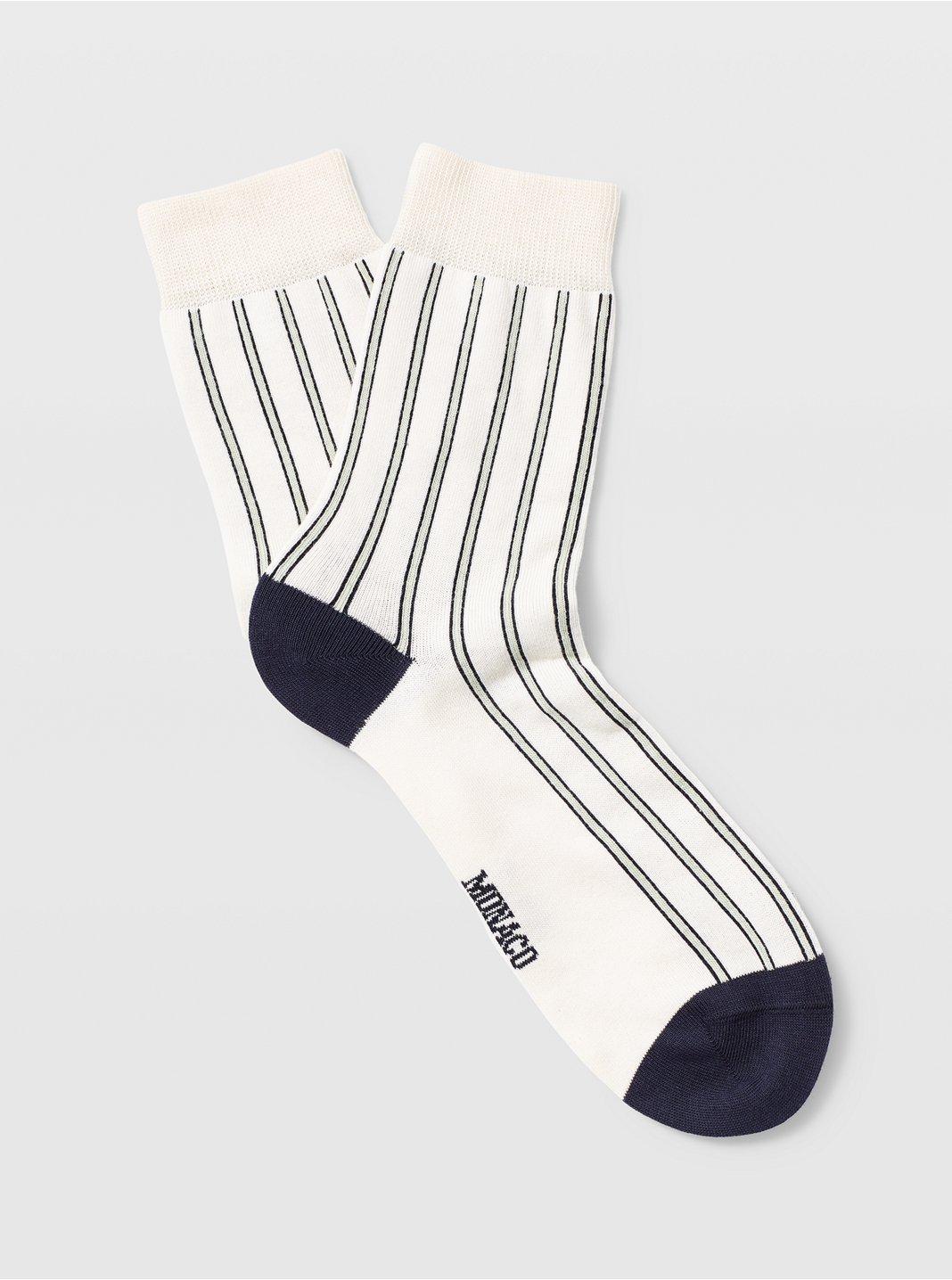 Vertical Stripe Sock