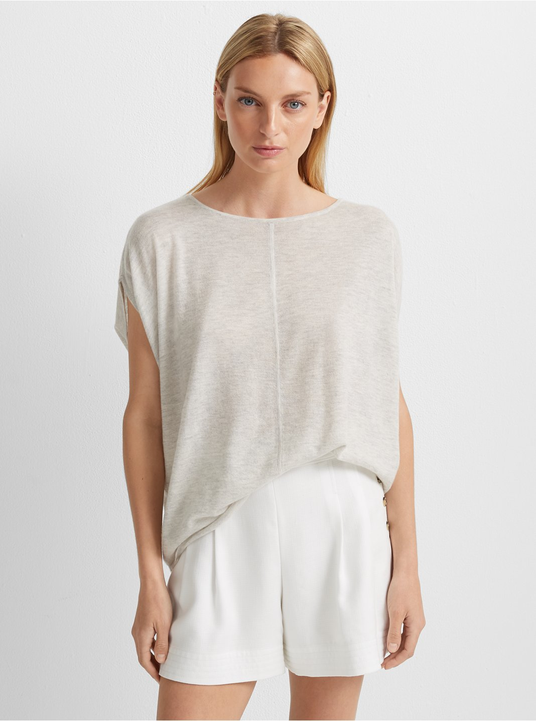Cashmere Shell Sweater